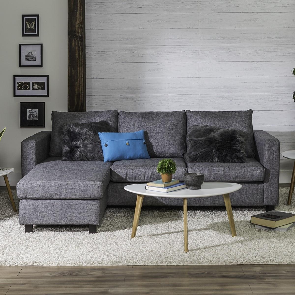 Most Recent Casa Corner Sofa (Grey) Regarding Peterborough Ontario Sectional Sofas (View 20 of 20)