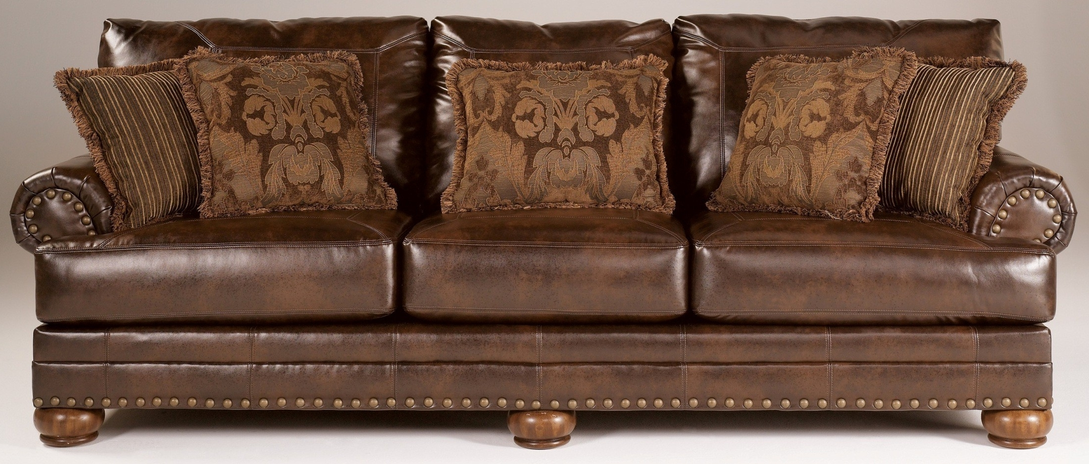 Most Recent Chaling Durablend Antique Sofa From Ashley (9920038) (View 7 of 20)