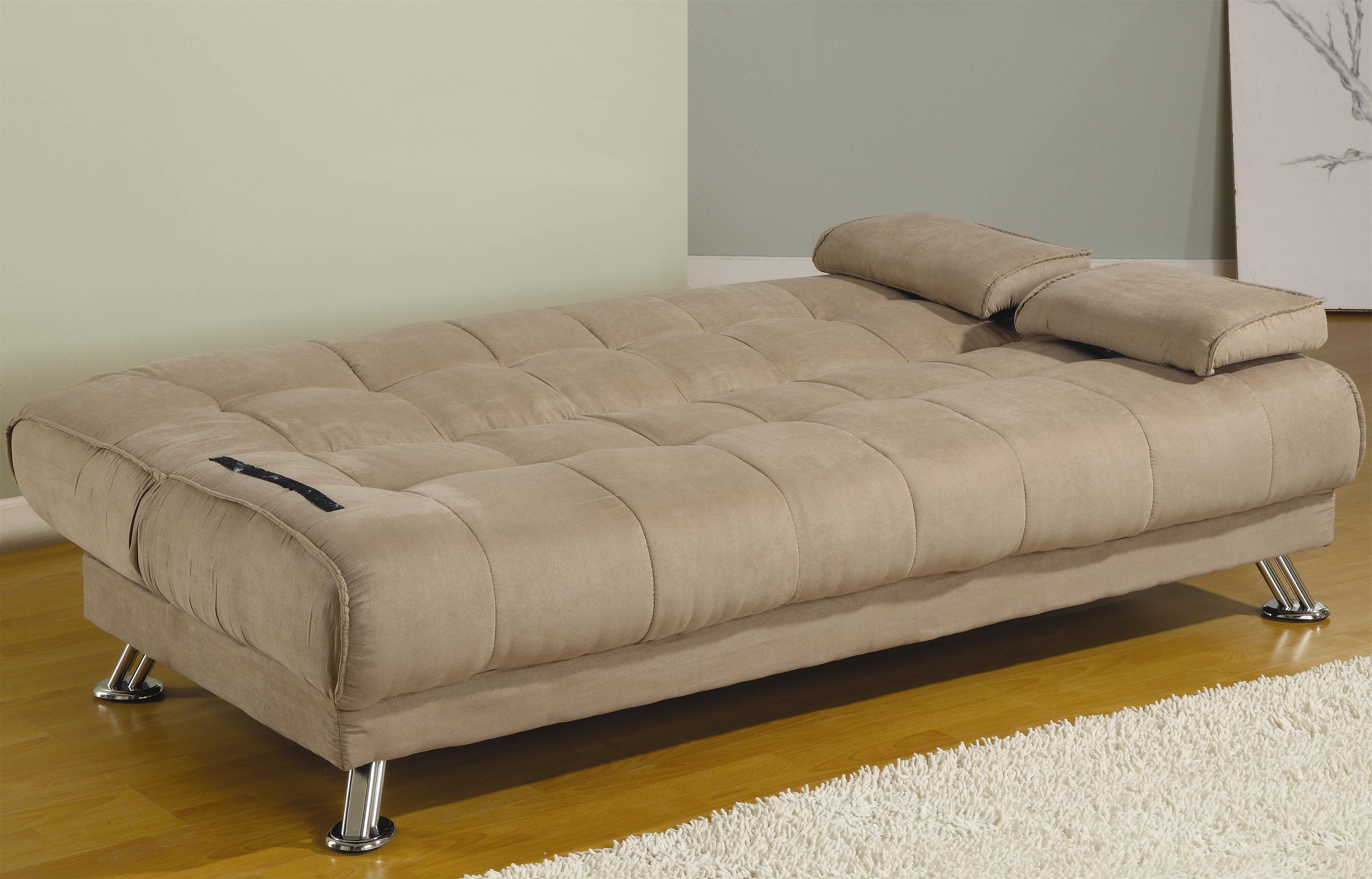 Most Recent City Sofa Beds In Fabric Convertible Sofa Bed With Removable Armrests (View 12 of 20)