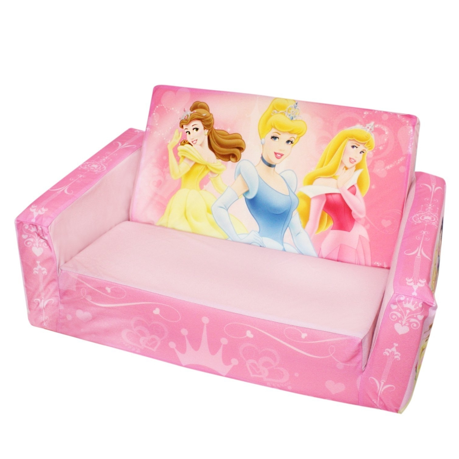Most Recent Disney Sofa Chairs Throughout Disney Princess Fold Out Couch — Randy Gregory Design : Fold Out (View 7 of 20)