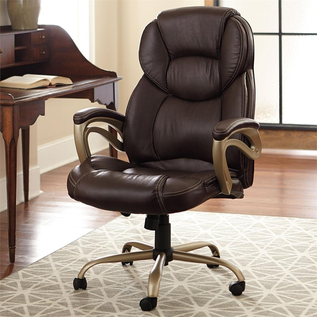Most Recent Extra Large Office Chair Wheels • Office Chairs With Large Executive Office Chairs (View 10 of 20)