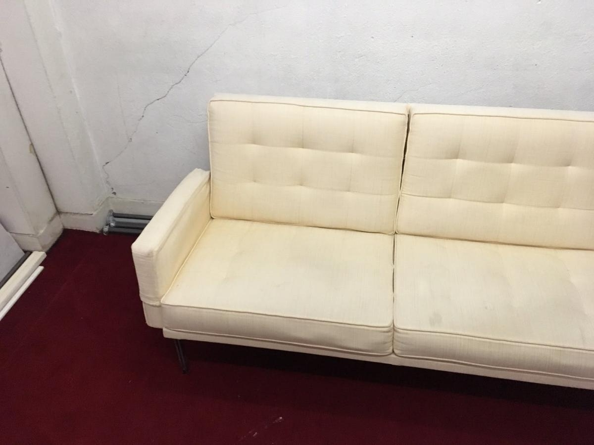Most Recent Grand Sofa From Florence Knoll Circa 1960 Beige – Benches – Sofa With Regard To Florence Grand Sofas (View 11 of 20)
