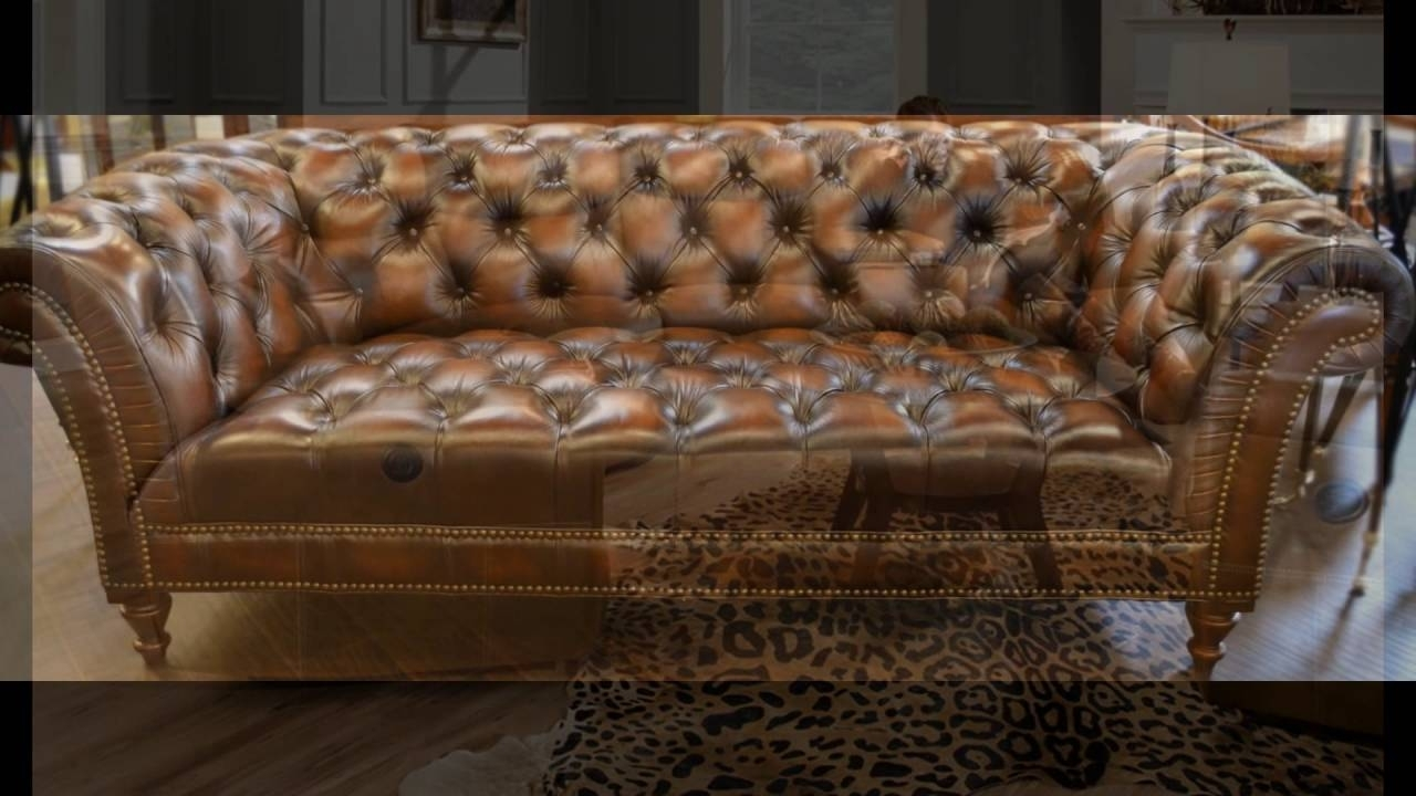 Most Recent High End Sofas In High End Leather Couches – Youtube (View 14 of 20)