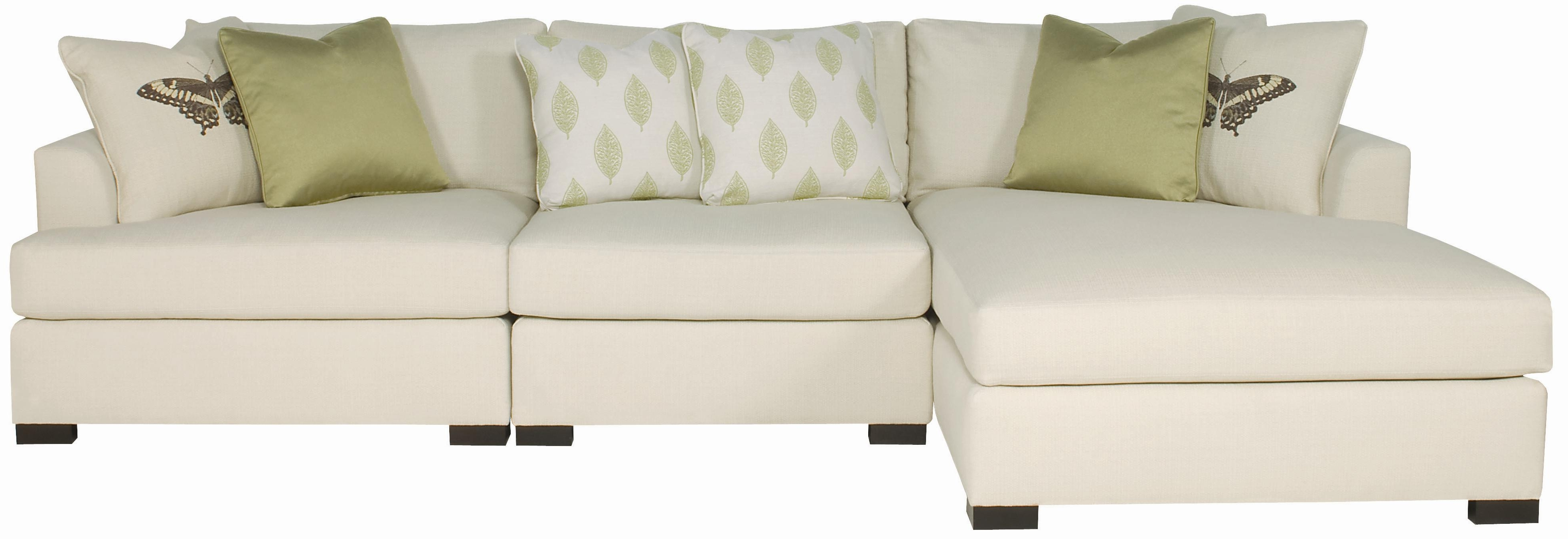 Most Recent Knoxville Tn Sectional Sofas For Adriana Sectional Sofa With Chaise Loungerbernhardt (View 14 of 20)