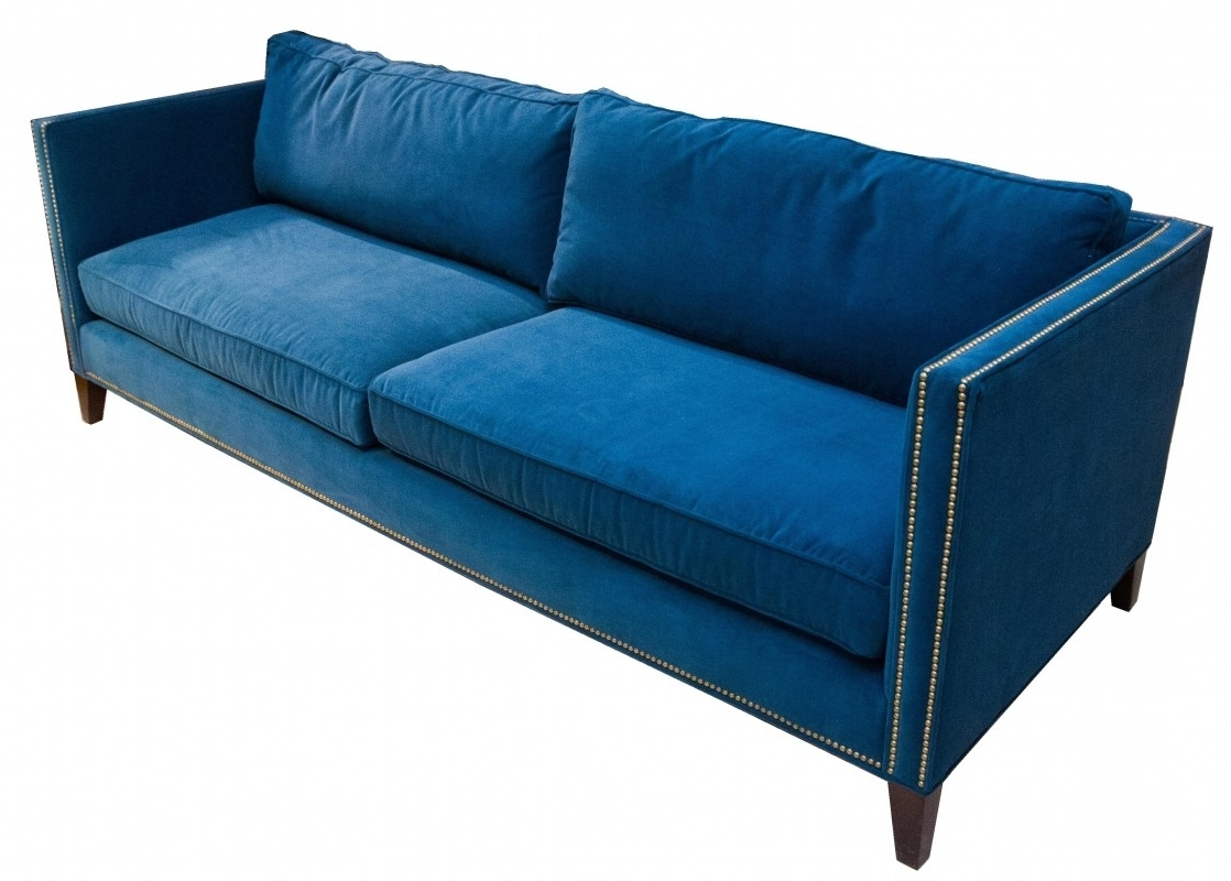 """Most Recent Mitchell Gold + Bob Williams"""" Liam"""" Sofa With Brass Nailheads In Mitchell Gold Sofas (View 20 of 20)"""