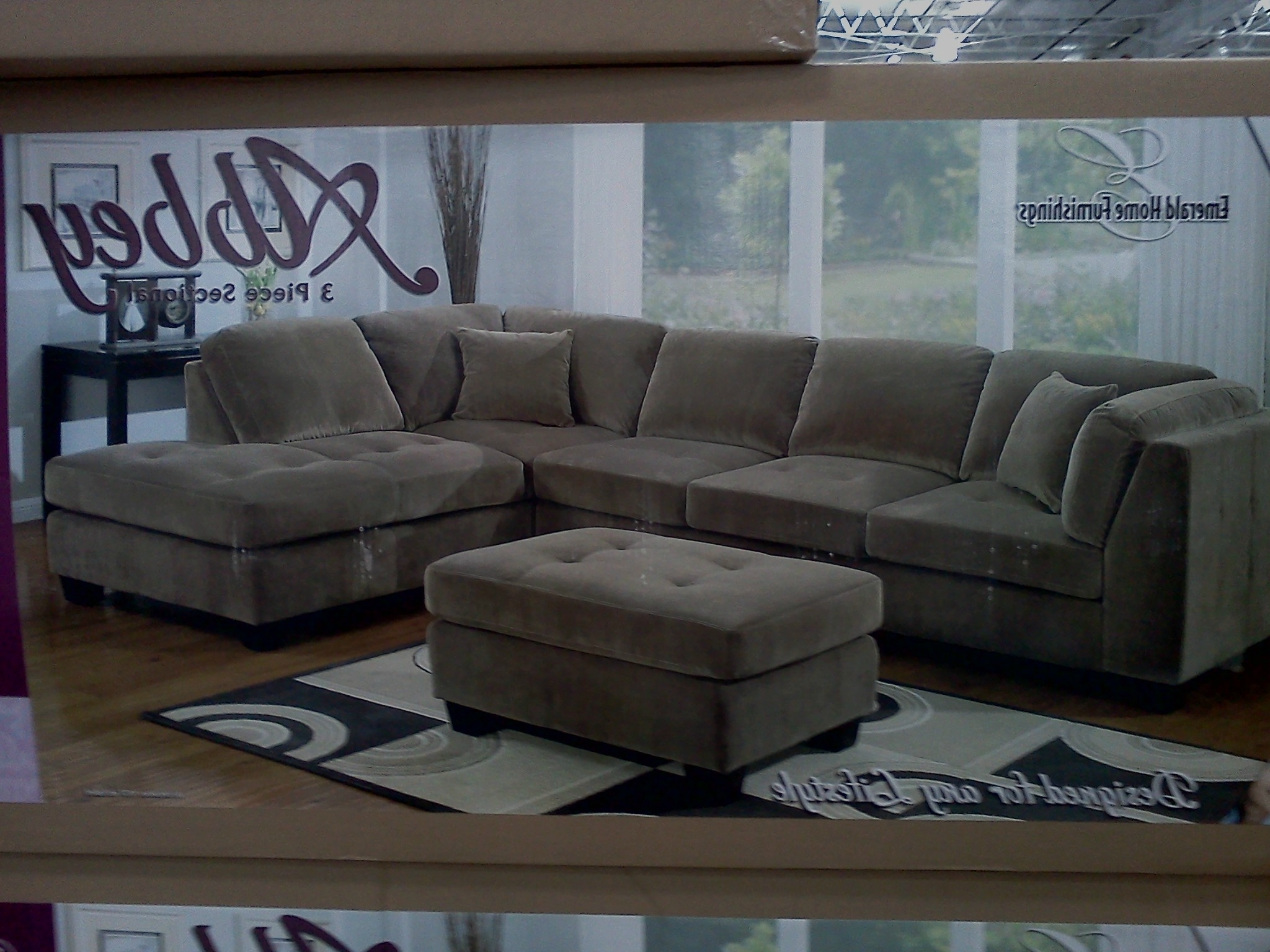 Most Recent Sectional Sofas At Costco Intended For Costco Emerald Home Modular Sectional Slickdeals – Kaf Mobile (View 17 of 20)