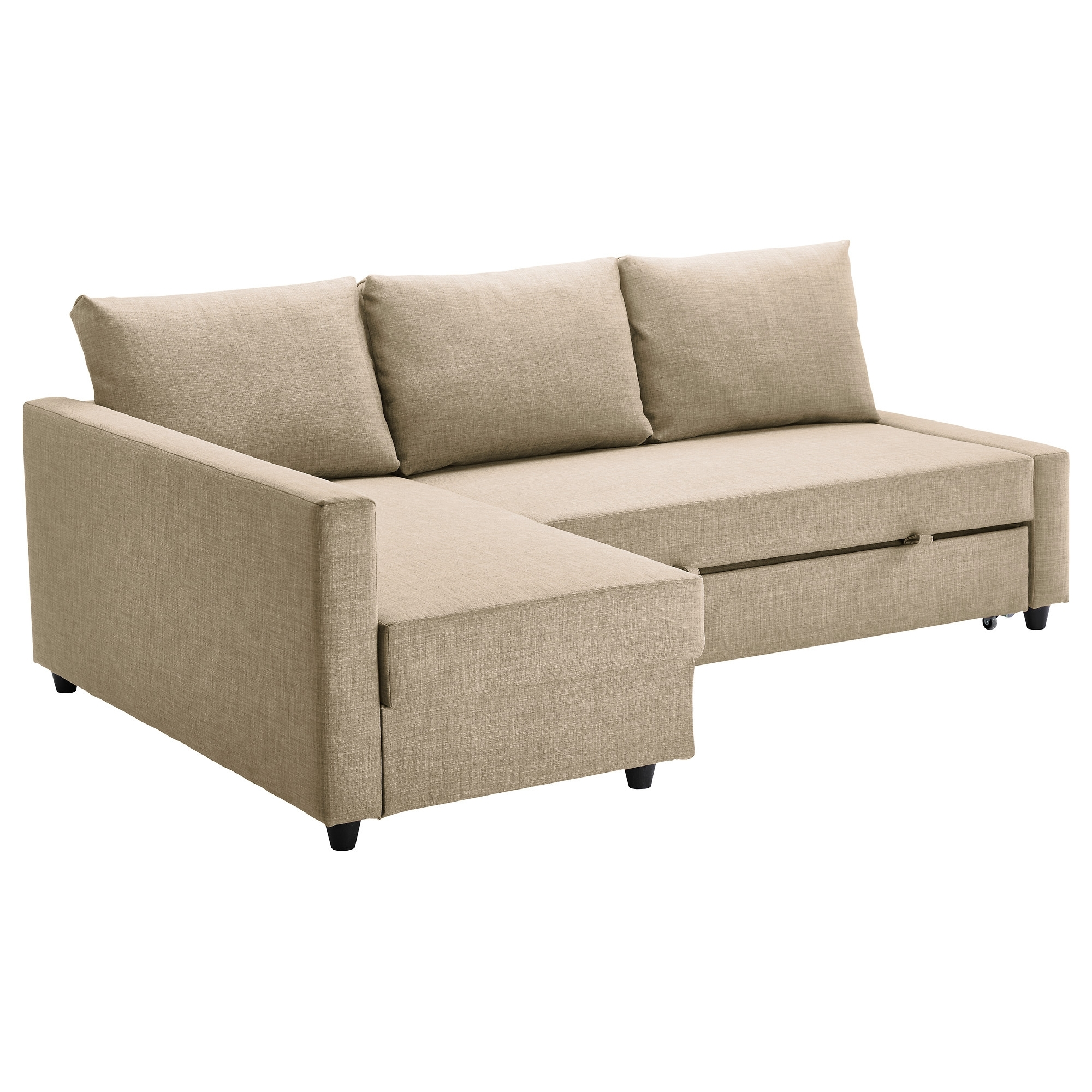 Most Recent Sectional Sofas At Ikea In Friheten Sleeper Sectional,3 Seat W/storage – Skiftebo Dark Gray (View 10 of 20)