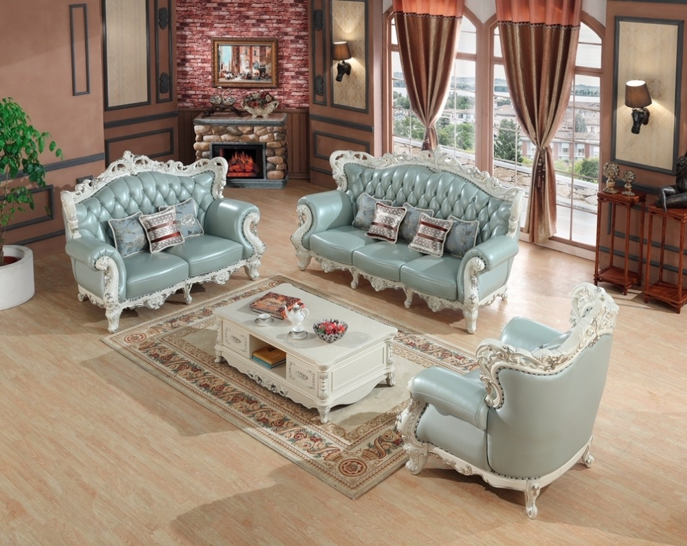 Most Recent Sectional Sofas From Europe In Luxury European Leather Sofa Set Living Room Sofa China Wooden (View 16 of 20)