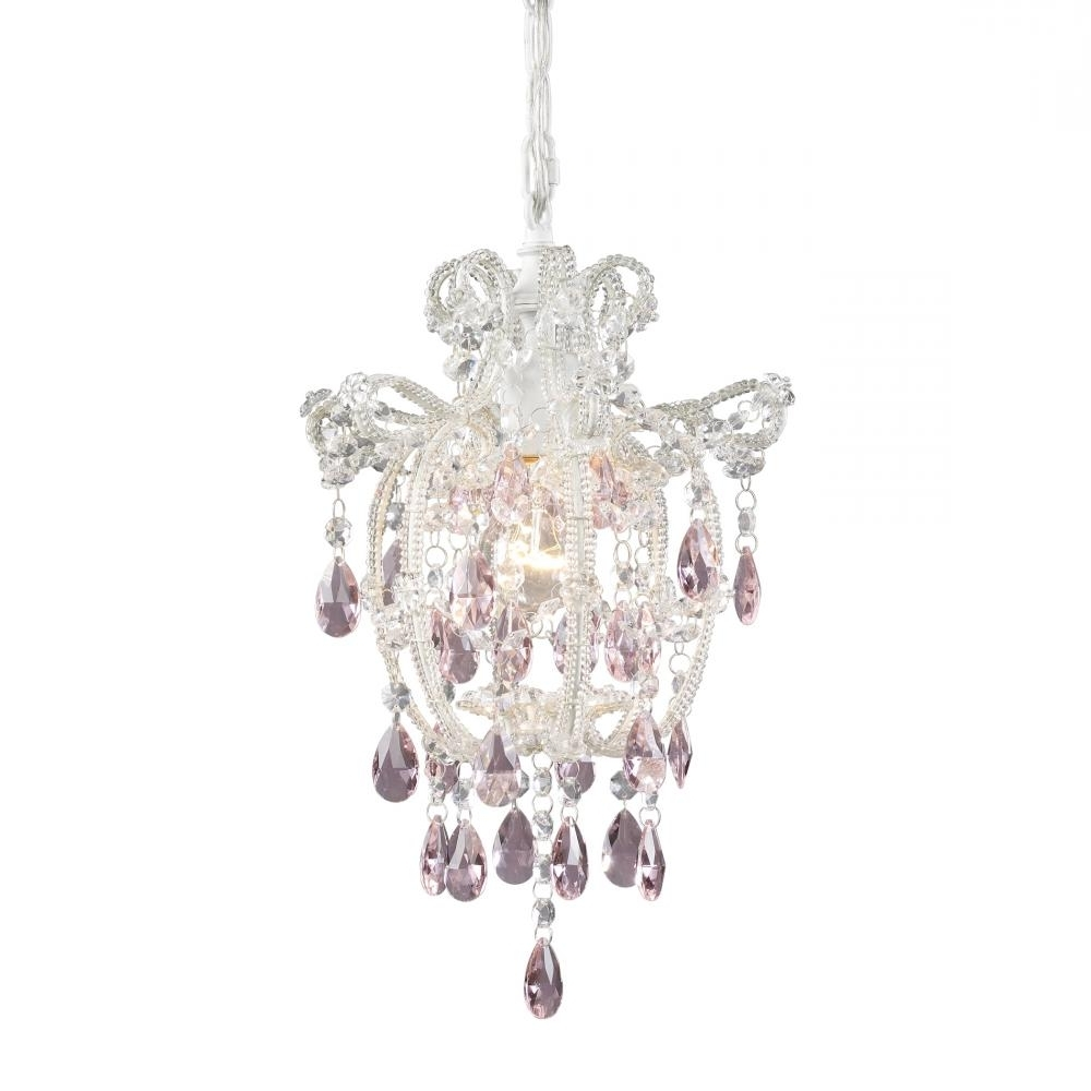 Most Recent Small White Chandeliers Within Antique White Mini Chandelier (View 6 of 20)
