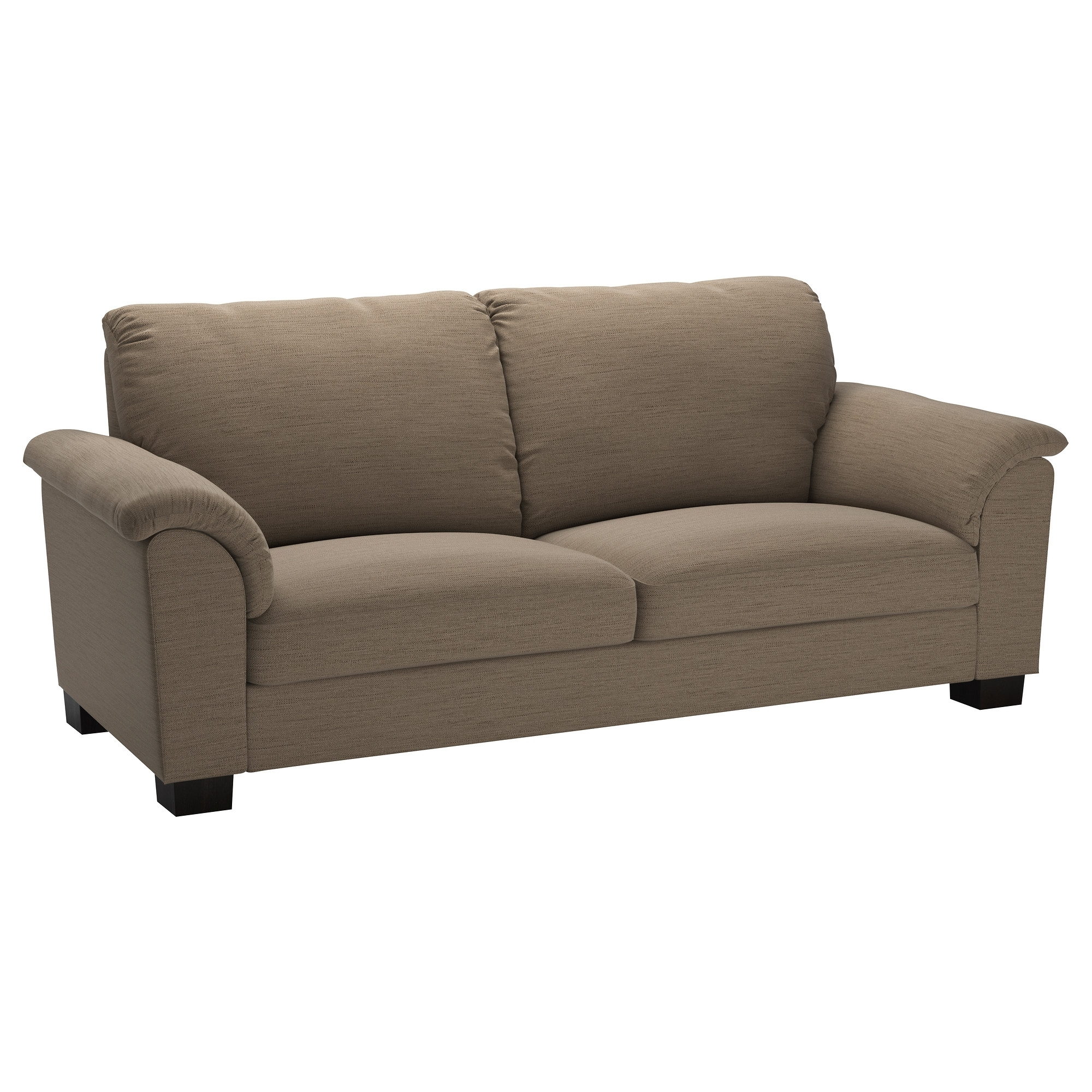 Most Recent Sofas With High Backs In Tidafors Sofa – Dansbo Medium Brown – Ikea (View 10 of 20)