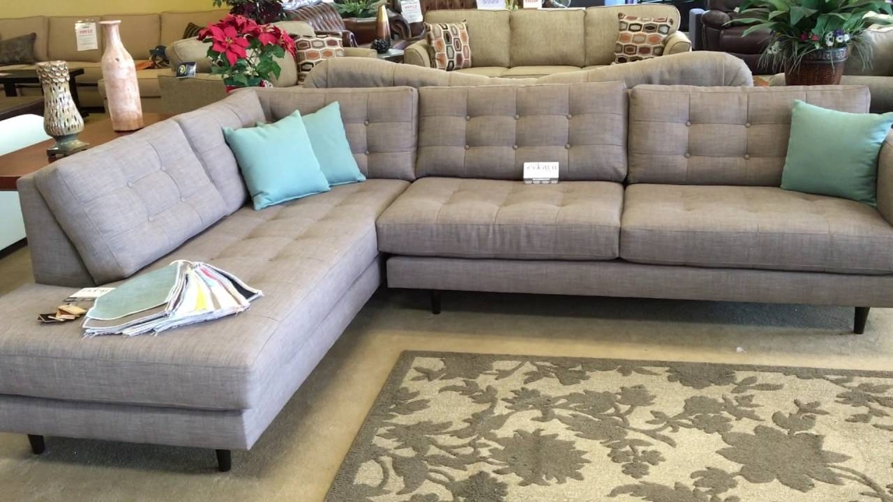 Most Recent Urban Innovationwyckes Oliver Mid Century Modern Custom With Customizable  Sectional Sofas (View 16