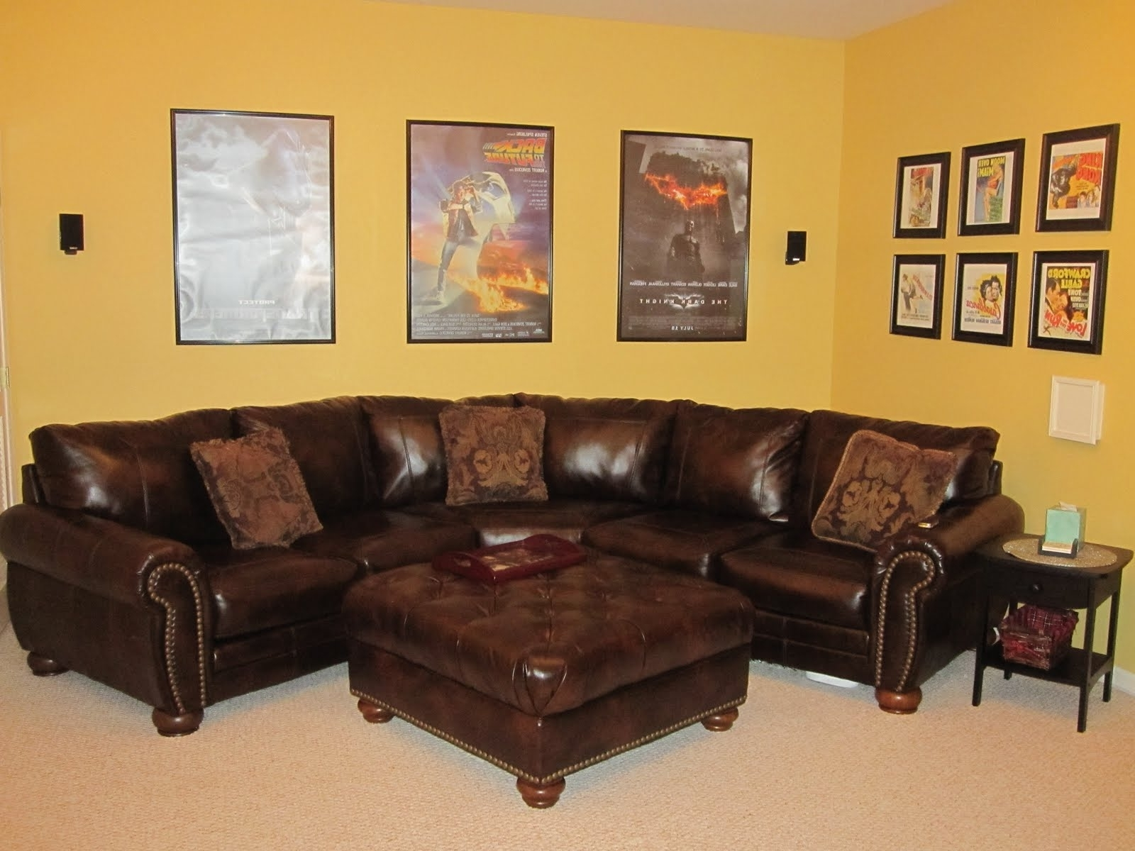 Most Recently Released Amazing Corner Couch Design — Fabrizio Design : Great Ideas Corner Inside Small Red Leather Sectional Sofas (View 8 of 20)