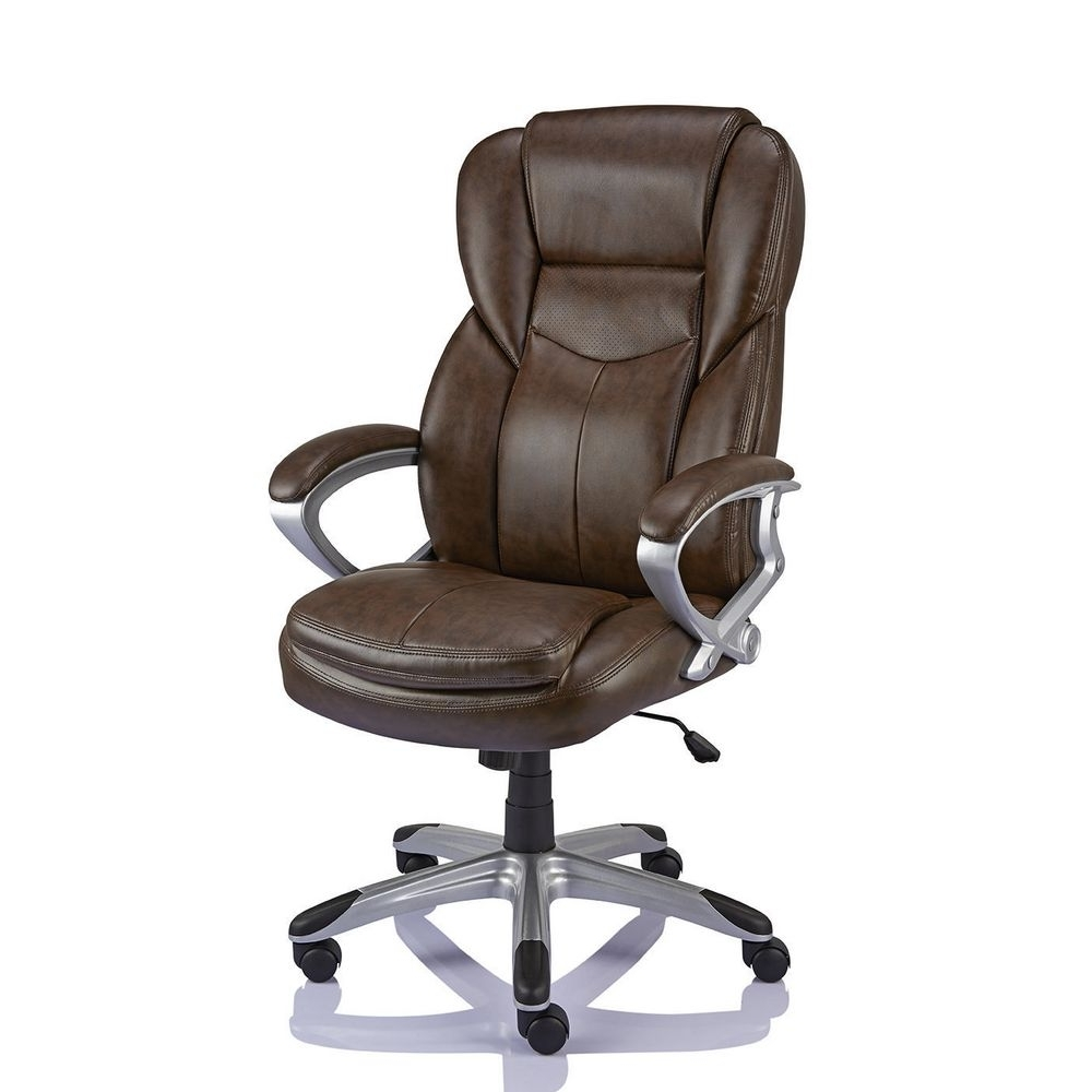 Most Recently Released Brown Executive Office Chairs In Chairs Design : Chair Office Guest Chairs Modern Desk Chair Office (View 19 of 20)