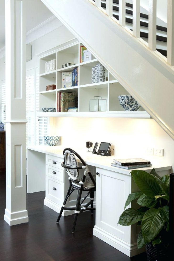 Most Recently Released Computer Desks Under Stairs With Regard To Home Office Under Stairs Design Ideas – Home Designs Ideas Online (View 11 of 20)