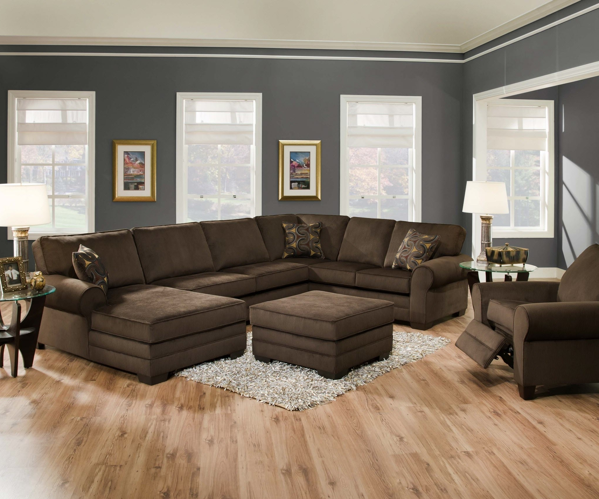 Most Recently Released Designssimmons – Simmons Deluxe Beluga Sectional With Regard To Simmons Sectional Sofas (View 11 of 20)