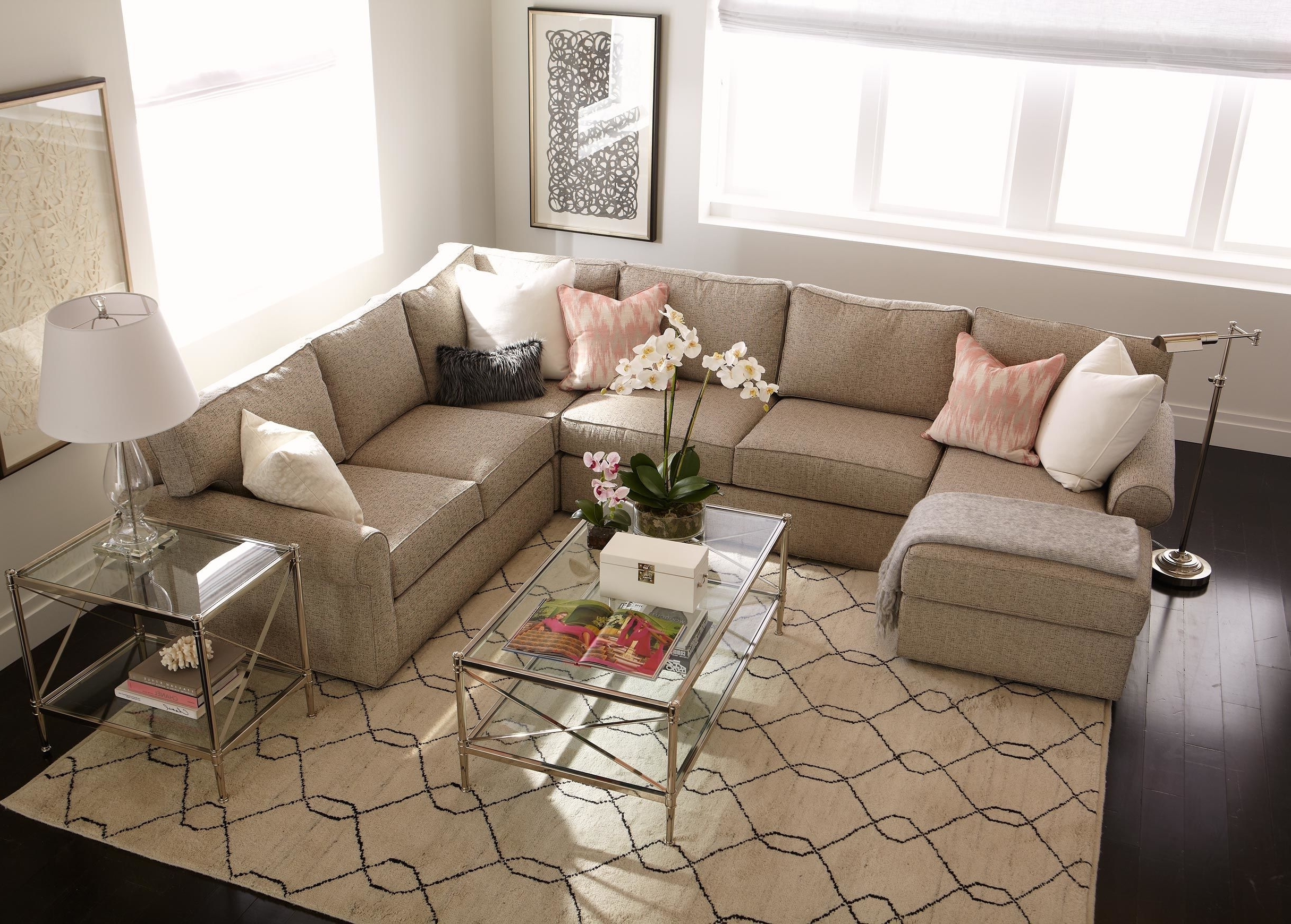 Most Recently Released Down Sectional Sofas Regarding Sofa : Down Filled Modern Sofa Down Filled Sofa With Chaise Down (View 15 of 20)