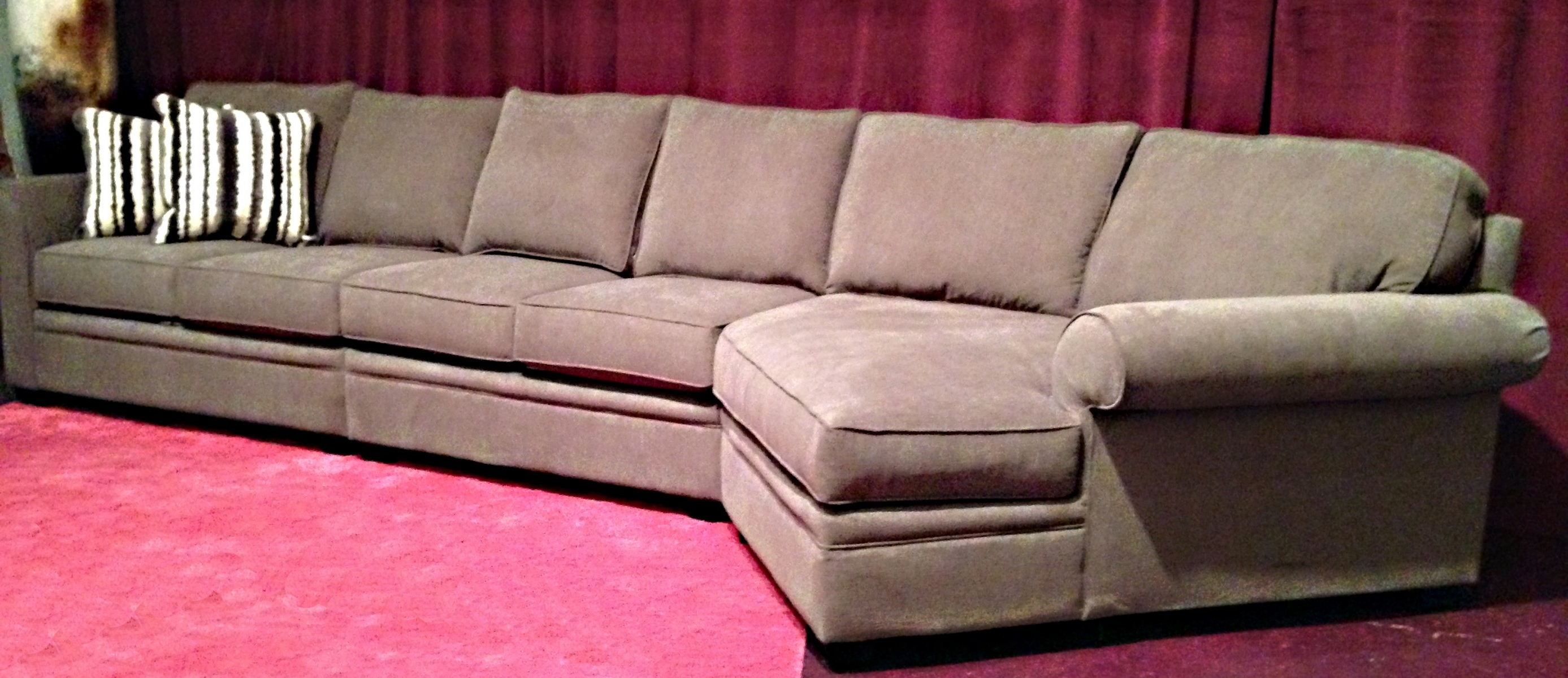 Most Recently Released Extra Long Reclining Sofa Within Long Sectional Sofas With Chaise (View 13 of 20)