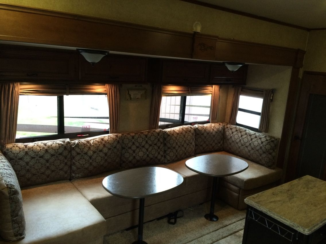 Most Recently Released I Replaced The Dining Table And Sofa Bed With This U Lounge With Sectional Sofas For Campers (View 8 of 20)
