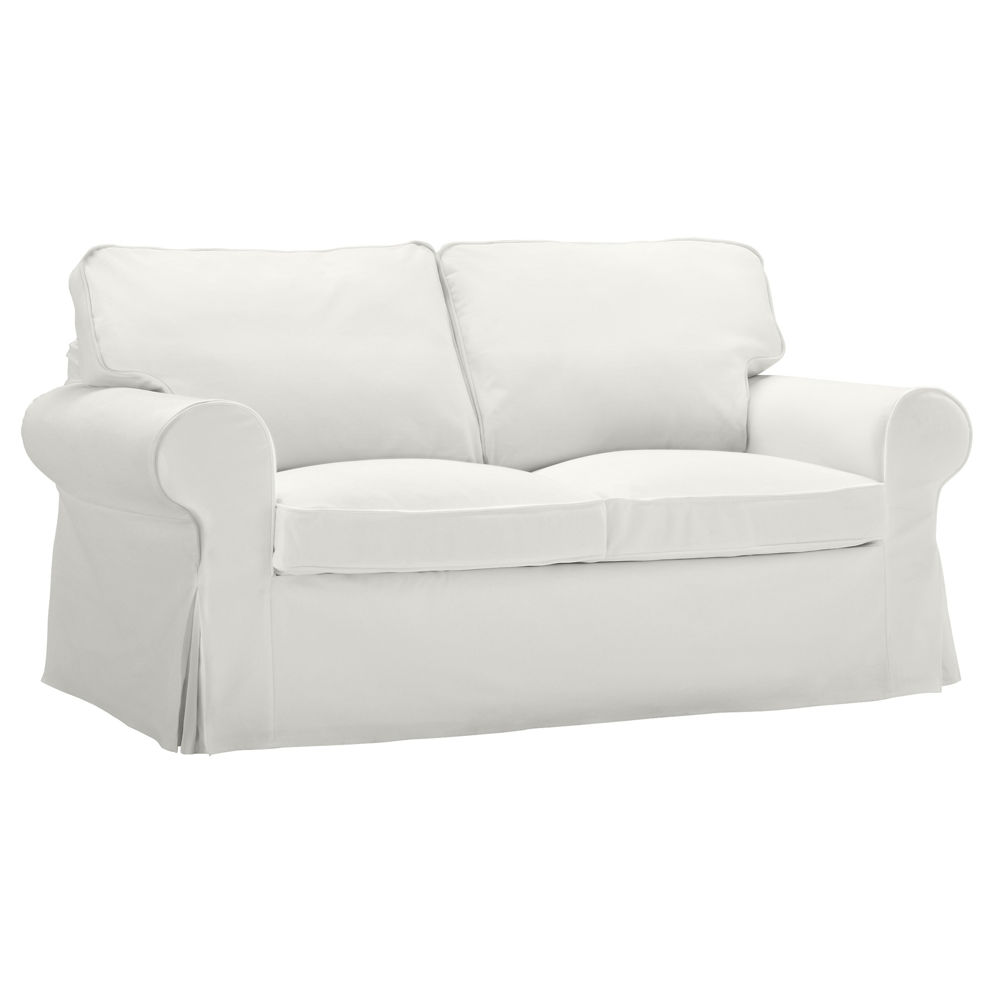 Most Recently Released Ikea Two Seater Sofas In Ektorp Two Seat Sofa Blekinge White – Ikea (View 15 of 20)