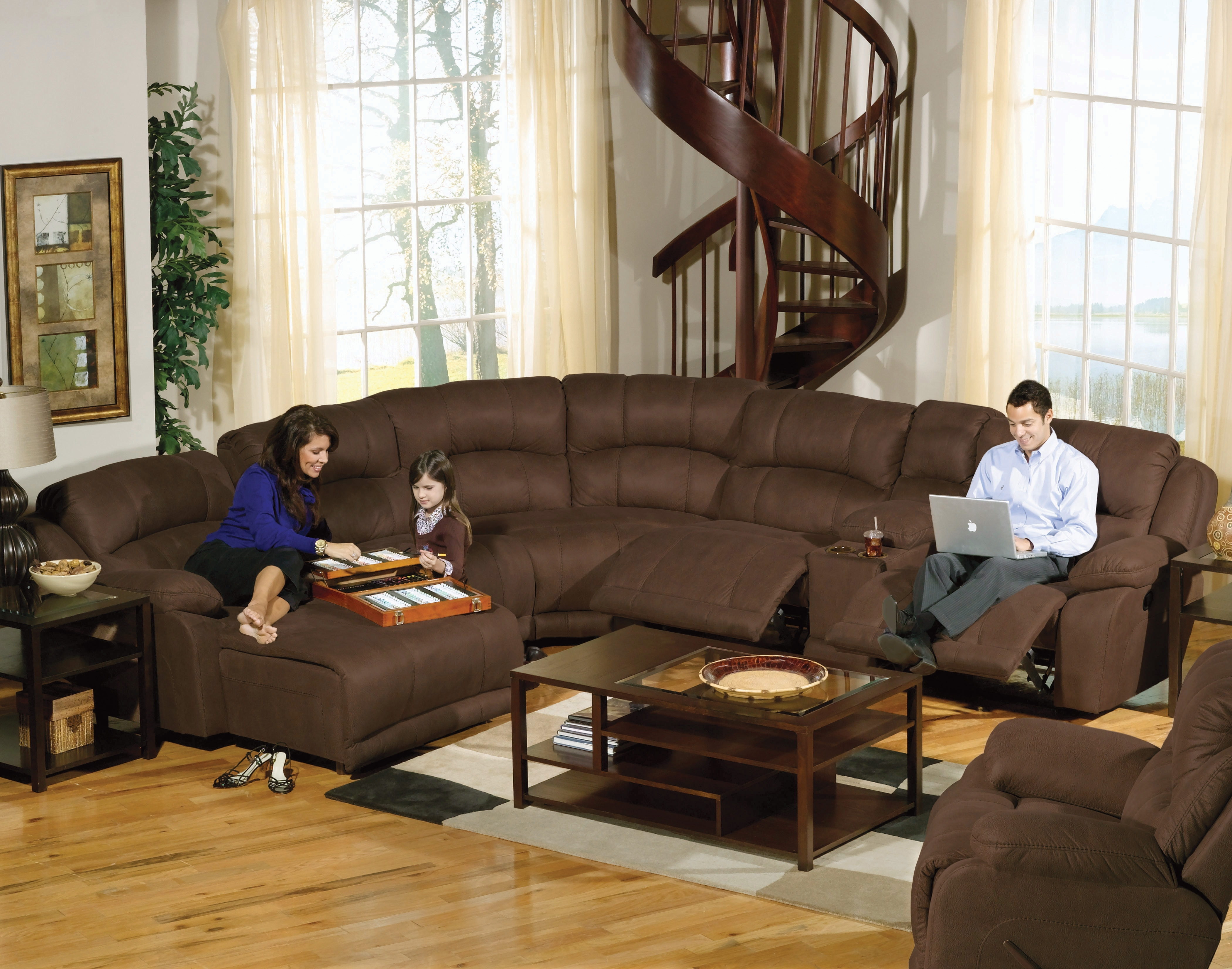 Most Recently Released Jedd Fabric Reclining Sectional Sofas In Furniture: Jedd Fabric Reclining Sectional Sofa (View 4 of 20)