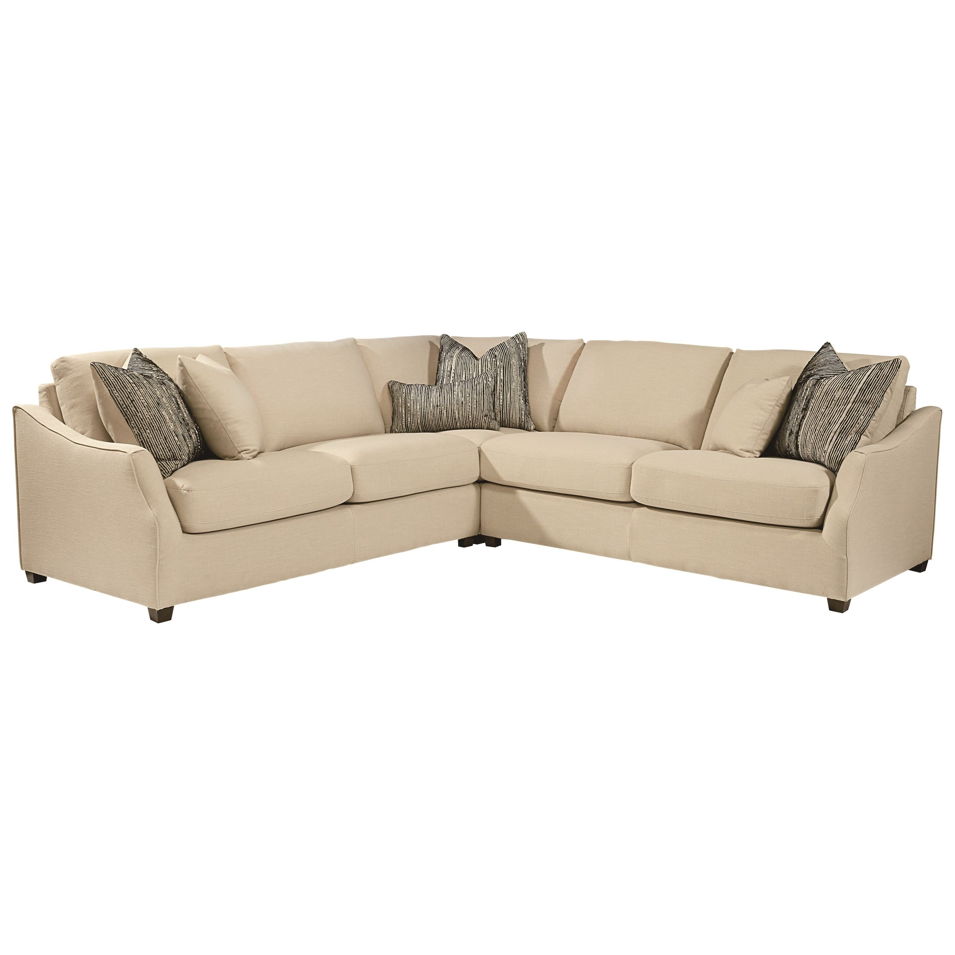 Most Recently Released Minneapolis Sectional Sofas Pertaining To Magnolia Homejoanna Gaines Homestead Three Piece Sectional (View 15 of 20)