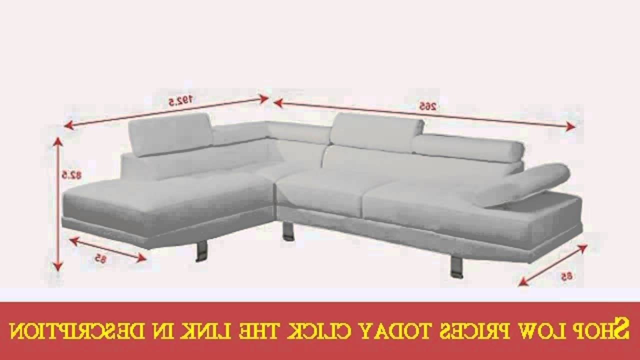 Most Recently Released Modern 2 Pieces White Faux Leather Sectional Sofa Right Chaise With Faux Leather Sectional Sofas (View 12 of 20)