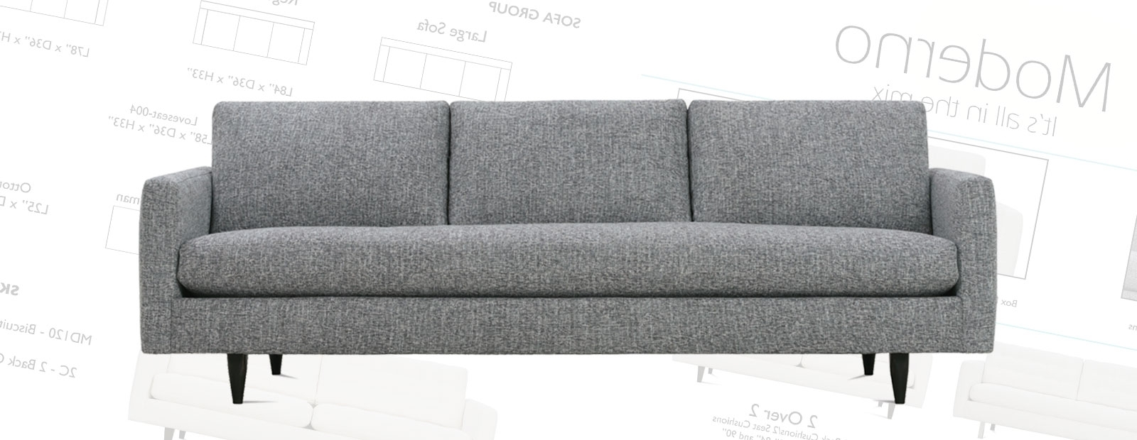 Most Recently Released Moderno Seating Within Mobilia Sectional Sofas (View 10 of 20)