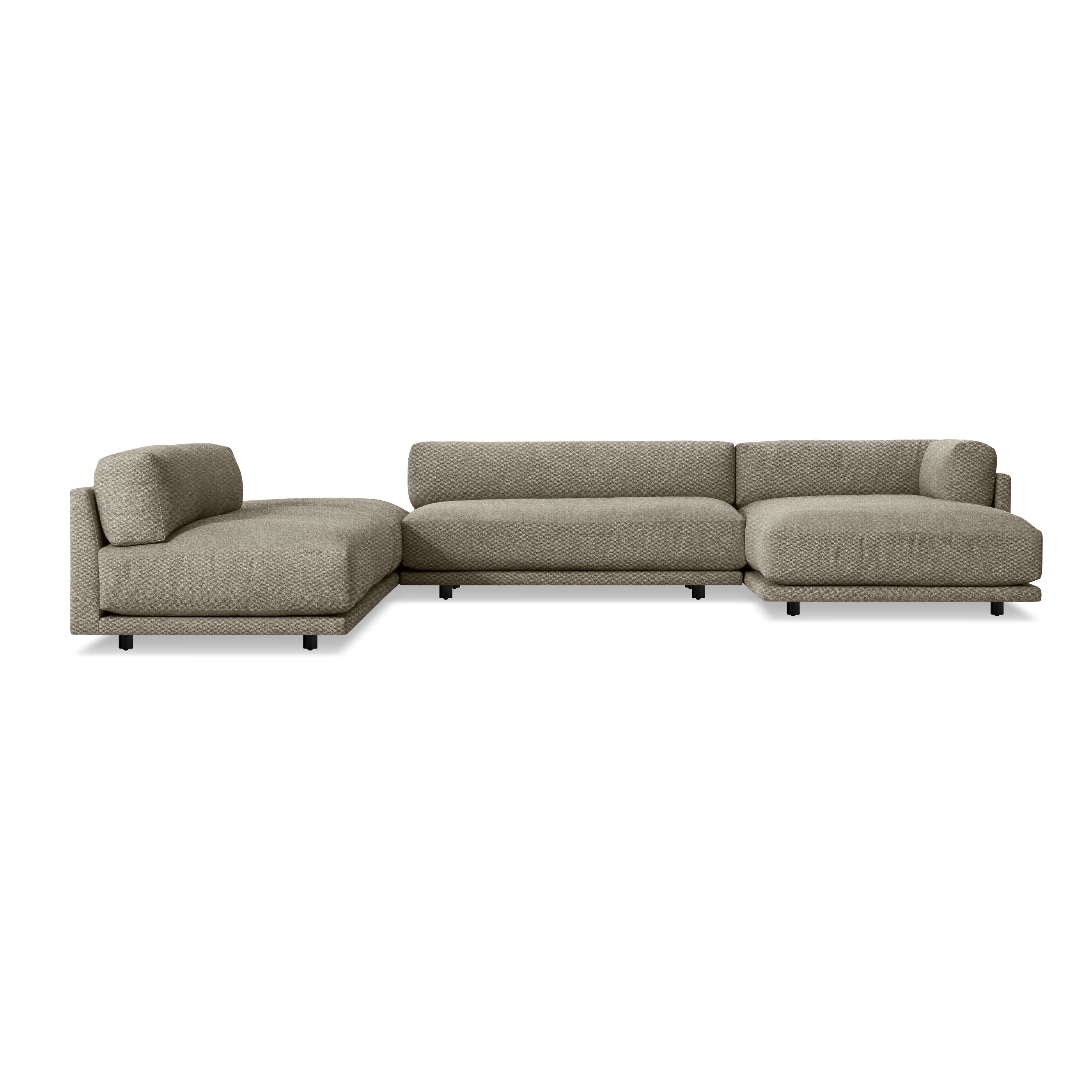 Most Recently Released Newfoundland Sectional Sofas Throughout Sunday J Sectional Sofa W/ Left Chaise (View 8 of 20)