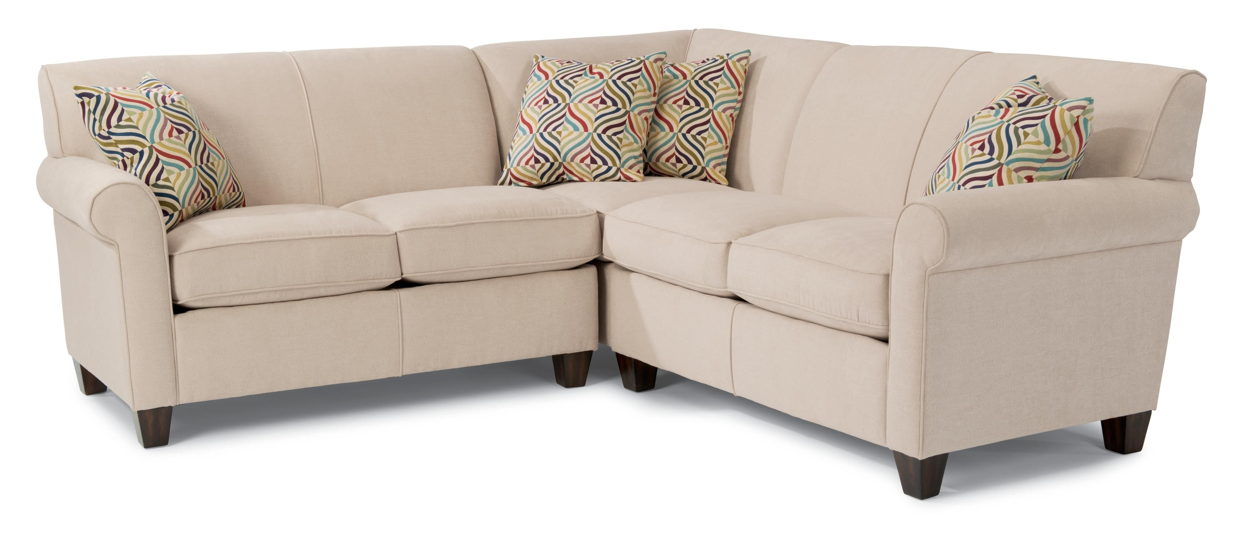 Most Recently Released Nova Scotia Sectional Sofas Throughout Dana Three Piece Corner Sectional Sofaflexsteel (View 14 of 20)