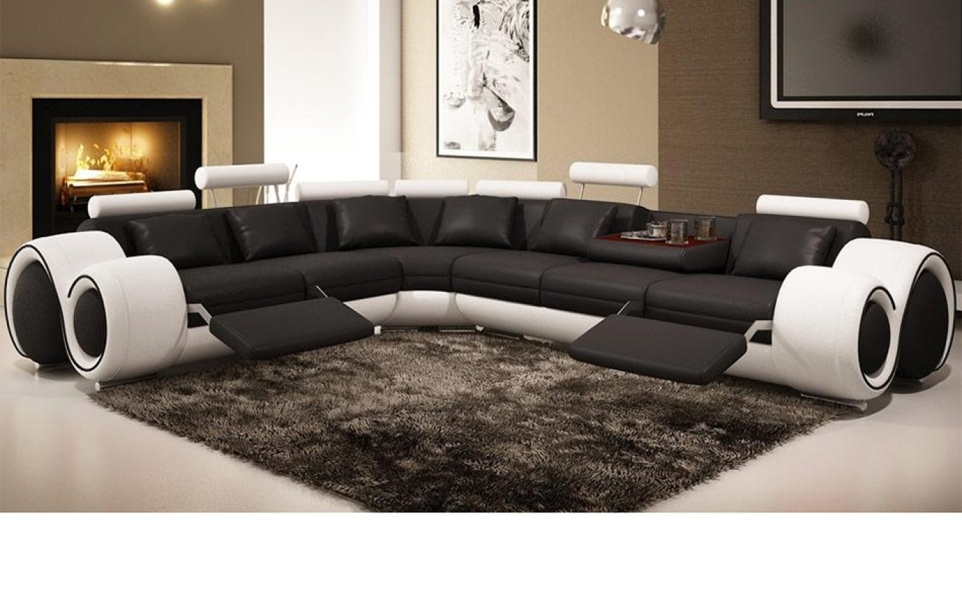 Most Recently Released Recliner : Ideal Sectional Sofa With Recliner Leather Hypnotizing Pertaining To Sectional Sofas In Philippines (View 11 of 20)