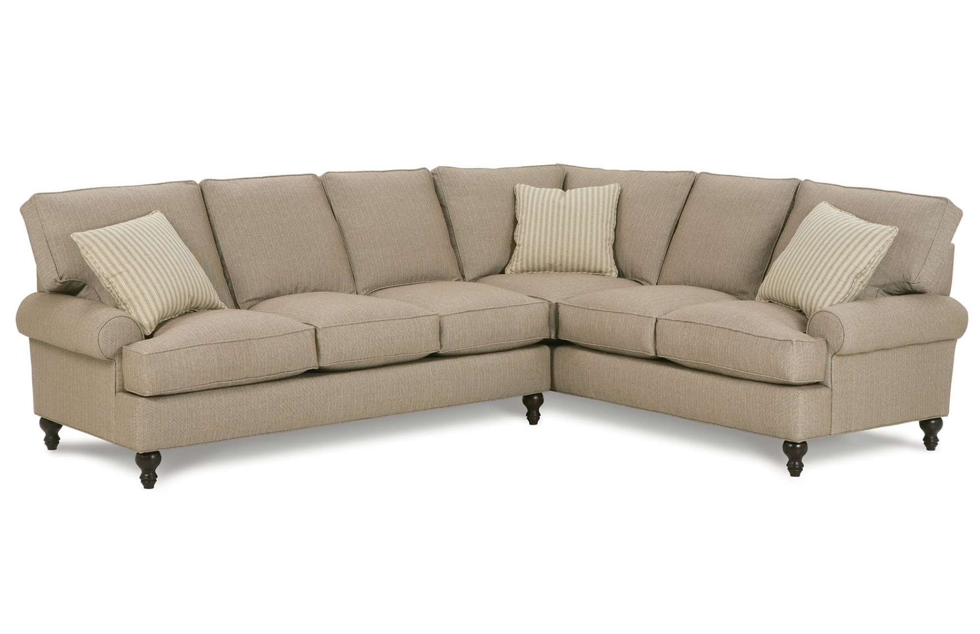 Most Recently Released Rounded Corner Sectional Sofas With Cindy Sectionalrobin Bruce (View 12 of 20)