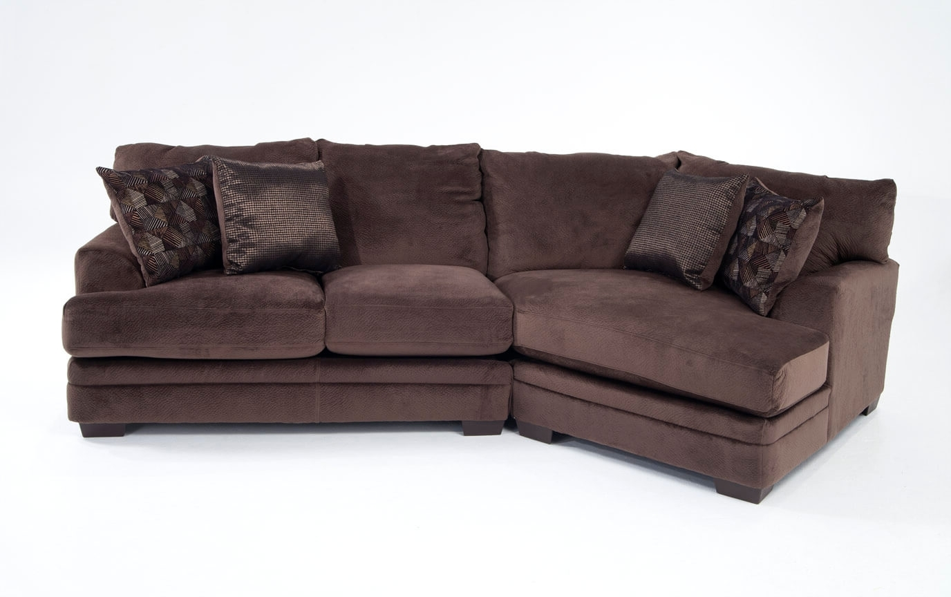 Most Recently Released Sectional Sofas With Cuddler Chaise With Regard To Charisma 2 Piece Right Arm Facing Sectional With Cuddler Chaise (View 10 of 20)