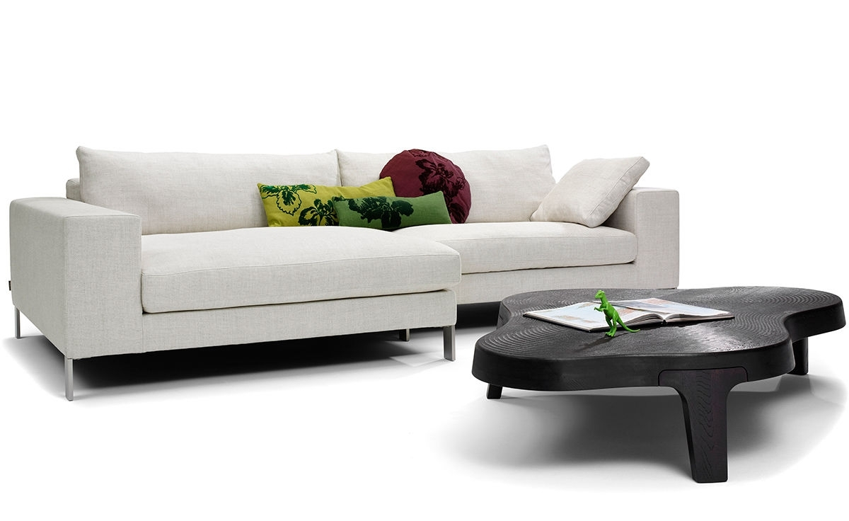 Most Recently Released Sleek Sectional Sofas Pertaining To Plaza Small Sectional Sofa – Hivemodern (View 11 of 20)