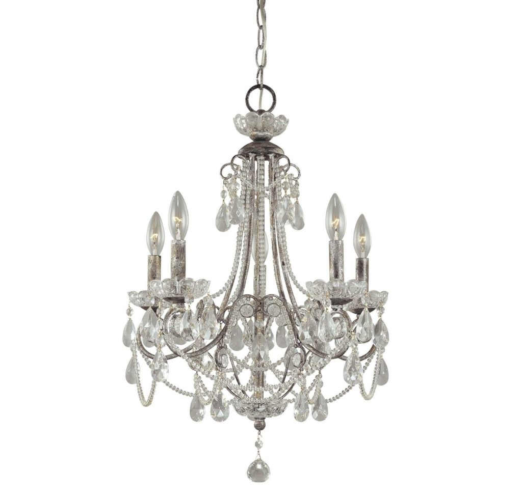 Most Recently Released Small Chandeliers For Low Ceilings Within Appealing Small Crystal Chandeliers Metal And Glass Material Antique (View 9 of 20)