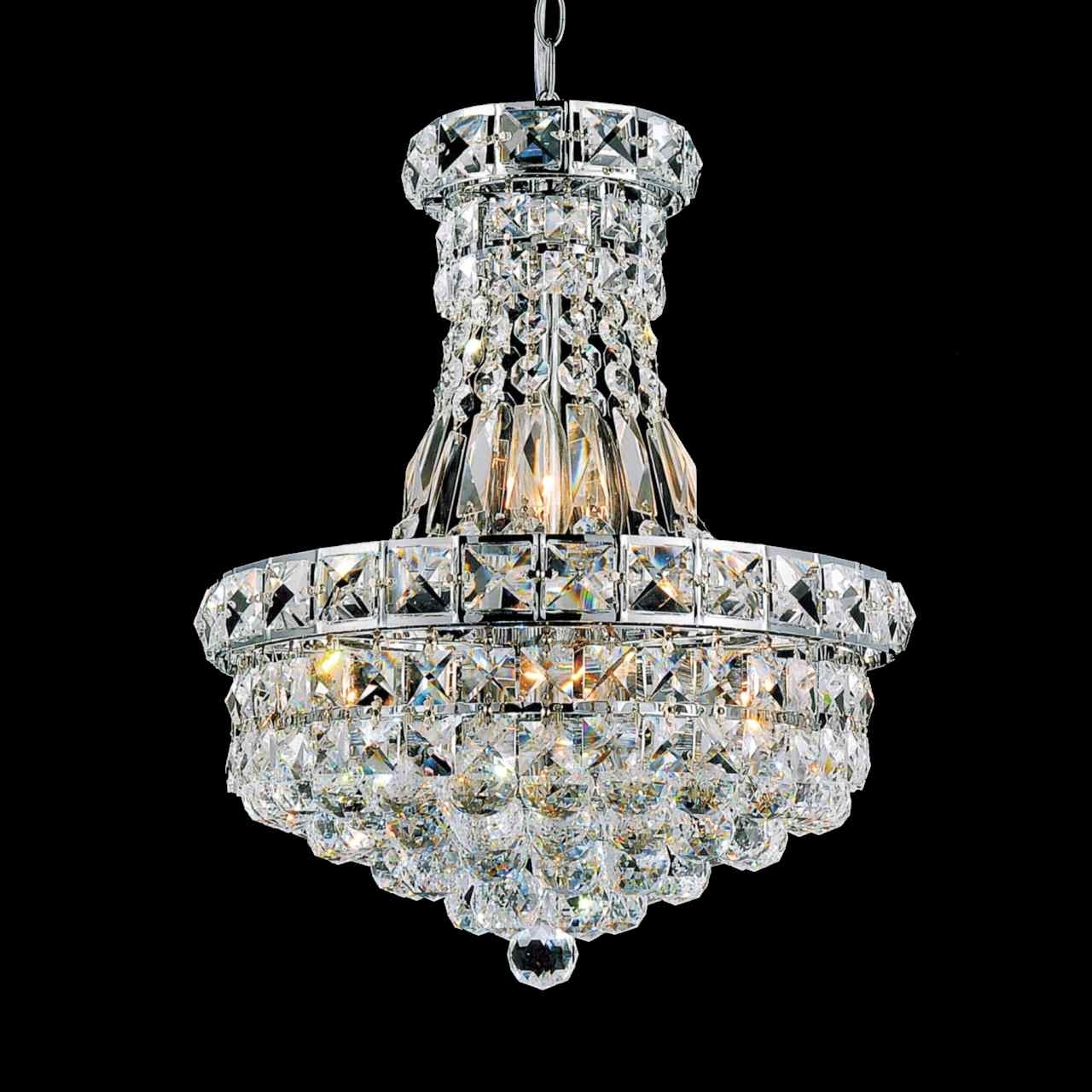 Most Recently Released Small Chrome Chandelier With Brizzo Lighting Stores (View 18 of 20)