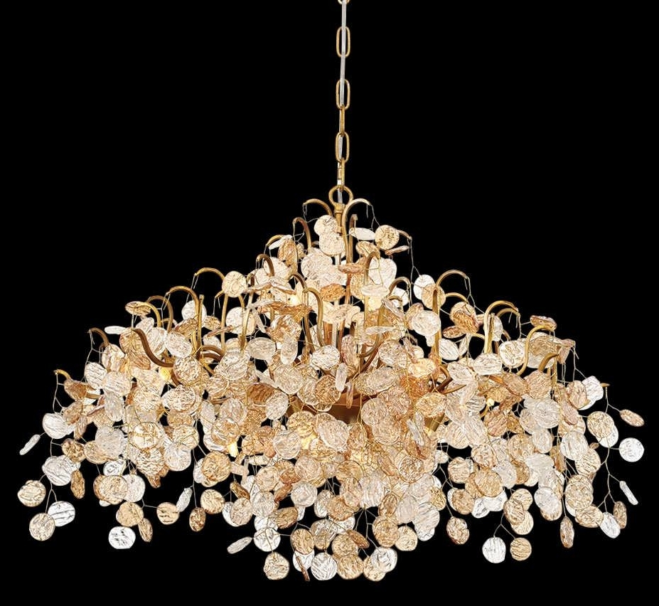Most Recently Released Small Glass Chandeliers Pertaining To Chandeliers Design : Amazing Glass Chandelier Modern Lighting (View 17 of 20)