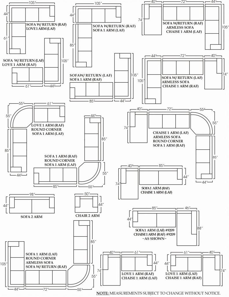 Most Recently Released Sofa Small Sectional Dimensions Length Darcy Standardh Sizes In Sectional Sofas By Size (View 8 of 20)
