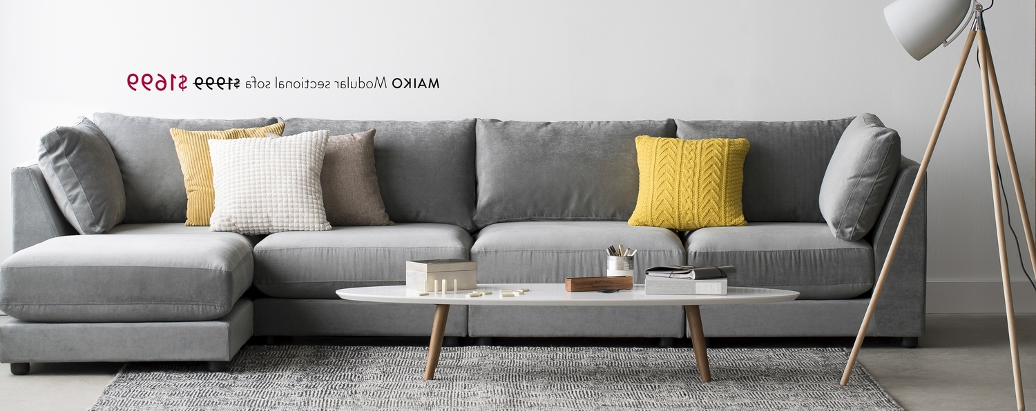 Most Recently Released Structube – Maiko Modular Sectional Sofa $1999 $1699, Dylan Coffee Pertaining To Structube Sectional Sofas (View 5 of 20)