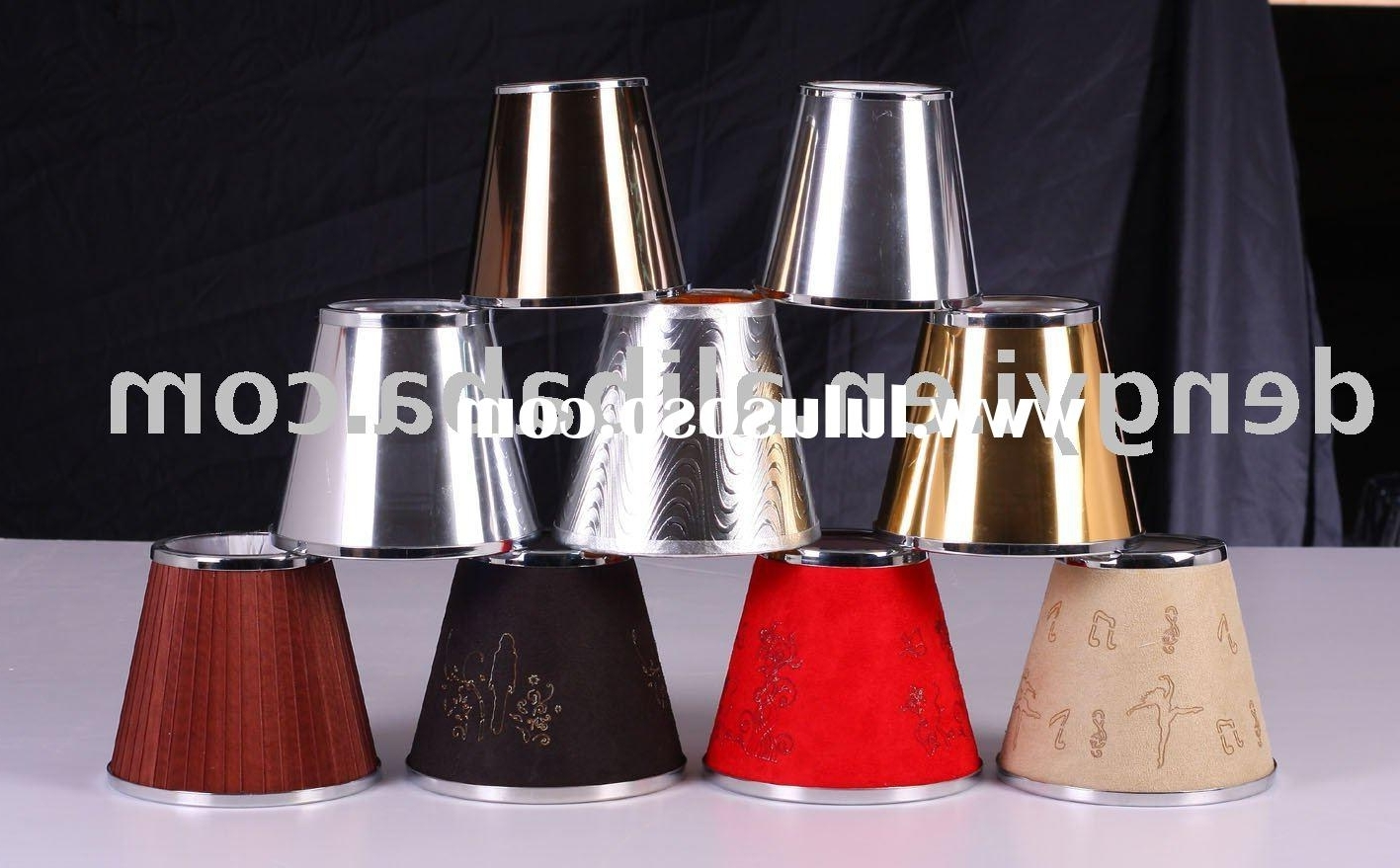 Most Recently Released Table Lamps Lighting: October 2012 With Regard To Small Chandelier Lamp Shades (View 19 of 20)