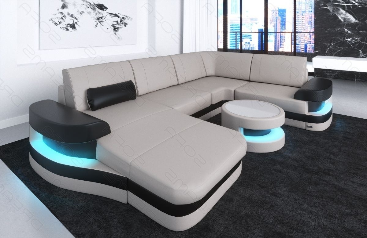 Most Recently Released Tampa Sectional Sofas Intended For Modern Leather Sofa Tampa U Shape (Gallery 15 of 20)