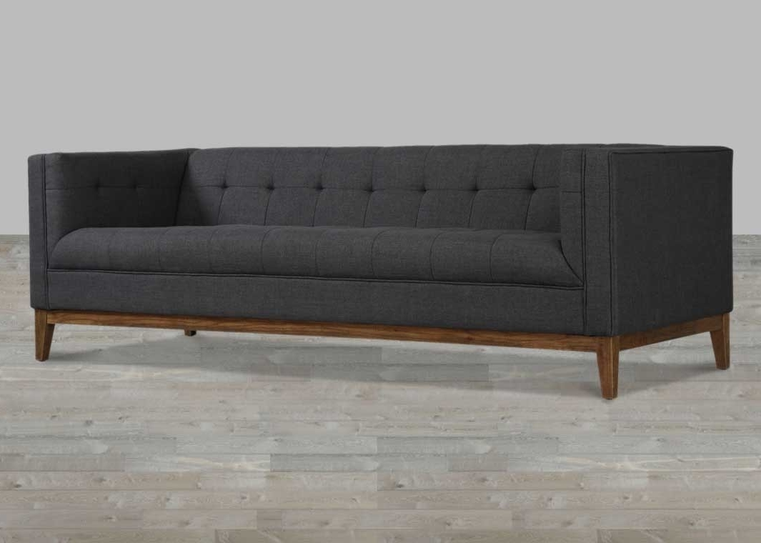 Most Recently Released Tufted Linen Sofas With Regard To Linen Sofa Button Tufted (View 5 of 20)