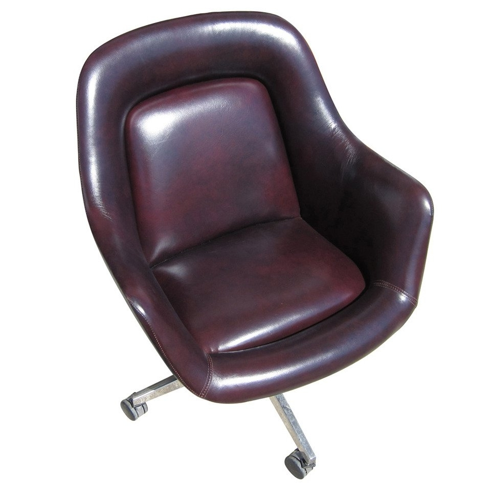 Most Recently Released Vintage Oversized Leather Executive Chairmax Pearson For Knoll With Regard To Oversized Executive Office Chairs (View 2 of 20)