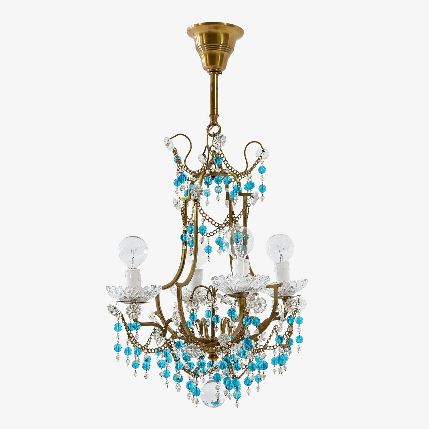 Most Up To Date Chandeliers Design : Awesome Amazing Turquoise Blue Chandeliers In Turquoise Blue Chandeliers (View 19 of 20)