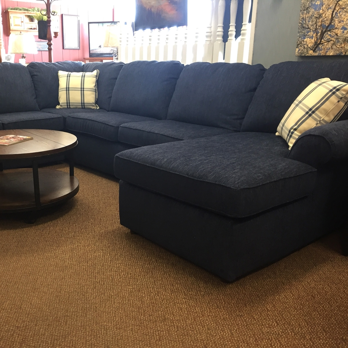 Most Up To Date Comfy Sectional Sofas With Comefireside Furniture And Enjoy Our Sectionals In Room Settings (View 11 of 20)