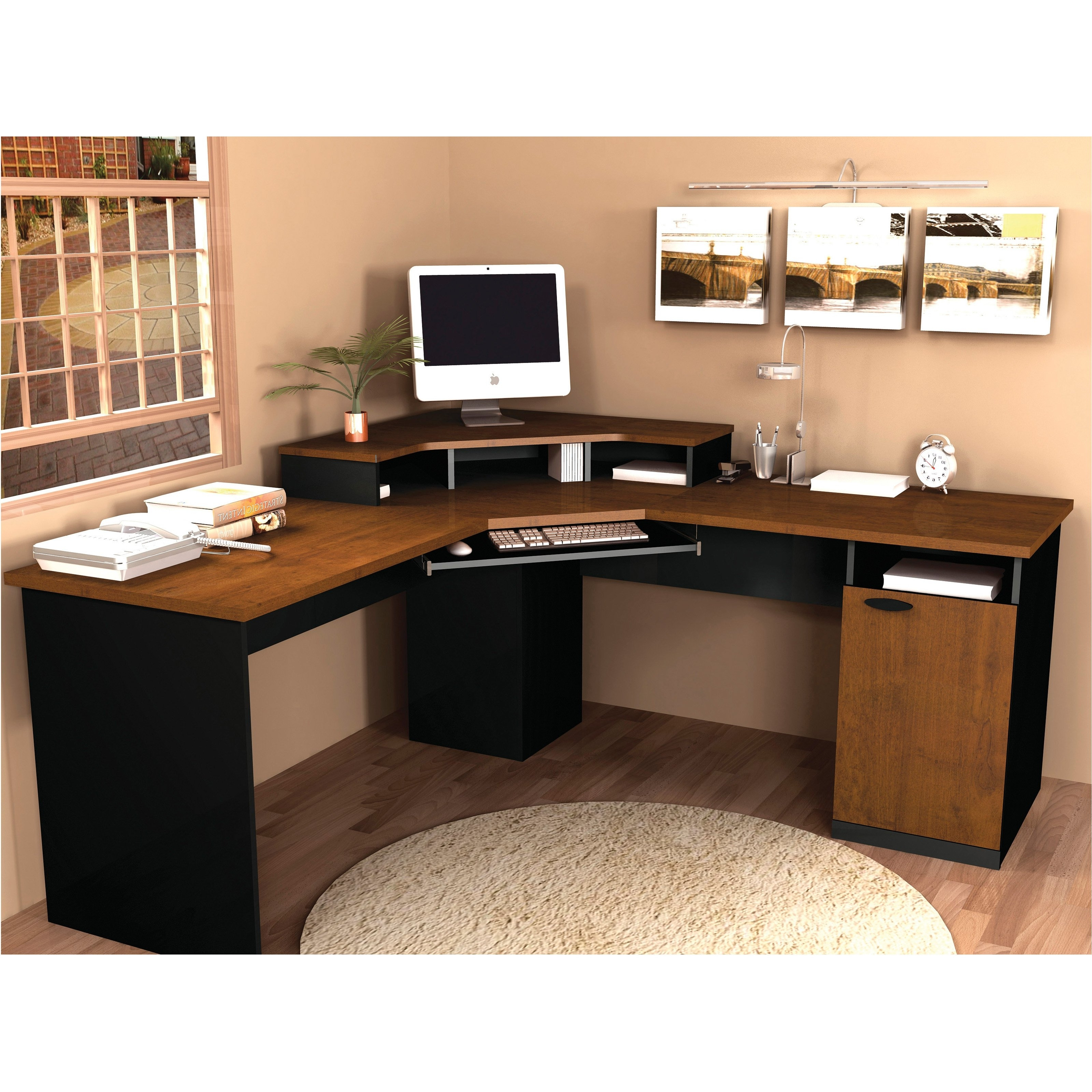 Most Up To Date Computer Desks For Home Intended For Shelf : Home Computer Desks Interior Design For Office Tips Supply (View 16 of 20)