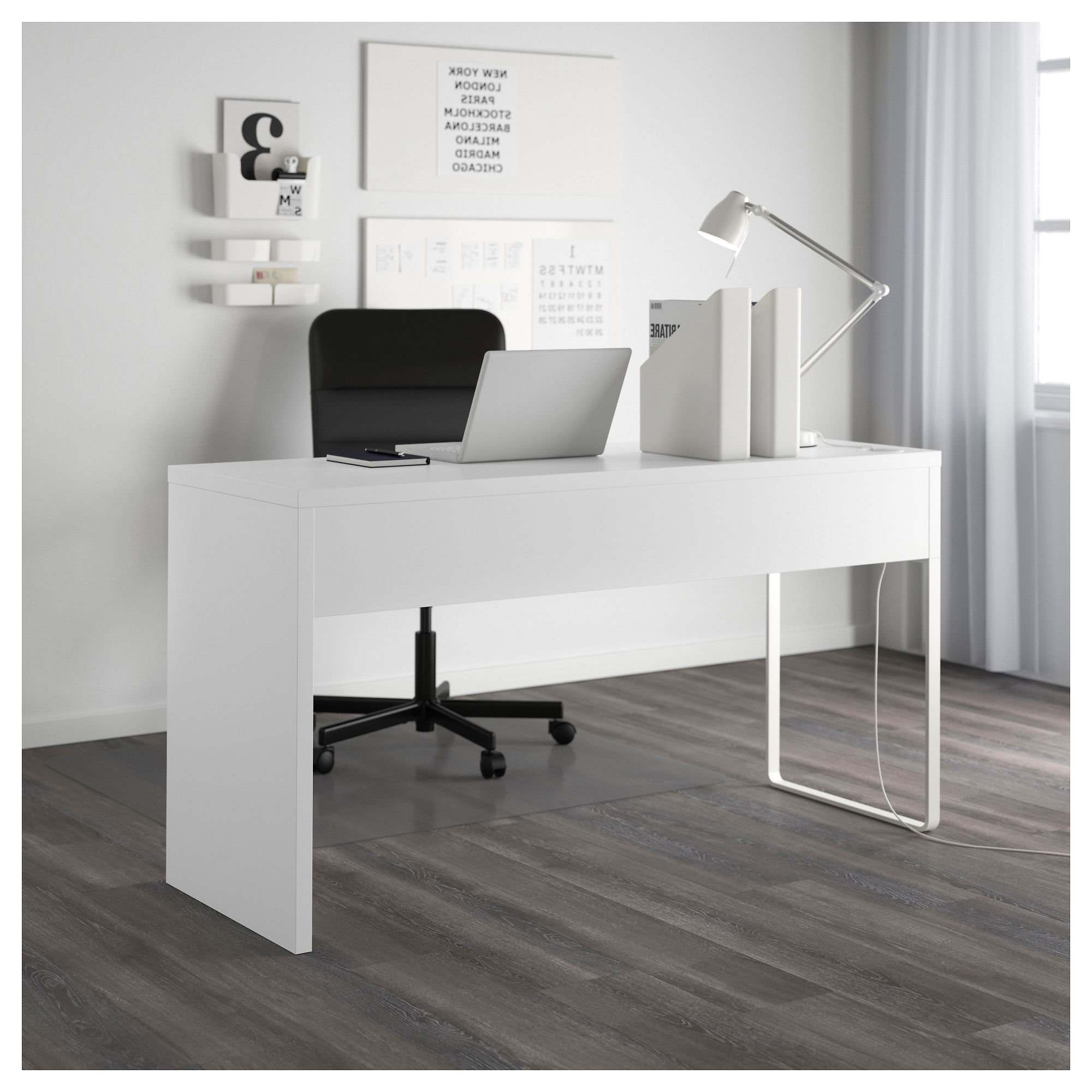 Most Up To Date Computer Desks In White Throughout Micke Desk – White – Ikea (Gallery 5 of 20)