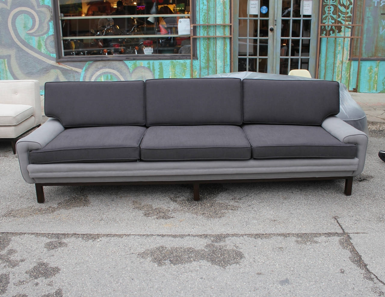 Most Up To Date Elegant Two Tone Grey Sofa 81 With Additional Living Room Sofa Throughout Two Tone Sofas (View 4 of 20)
