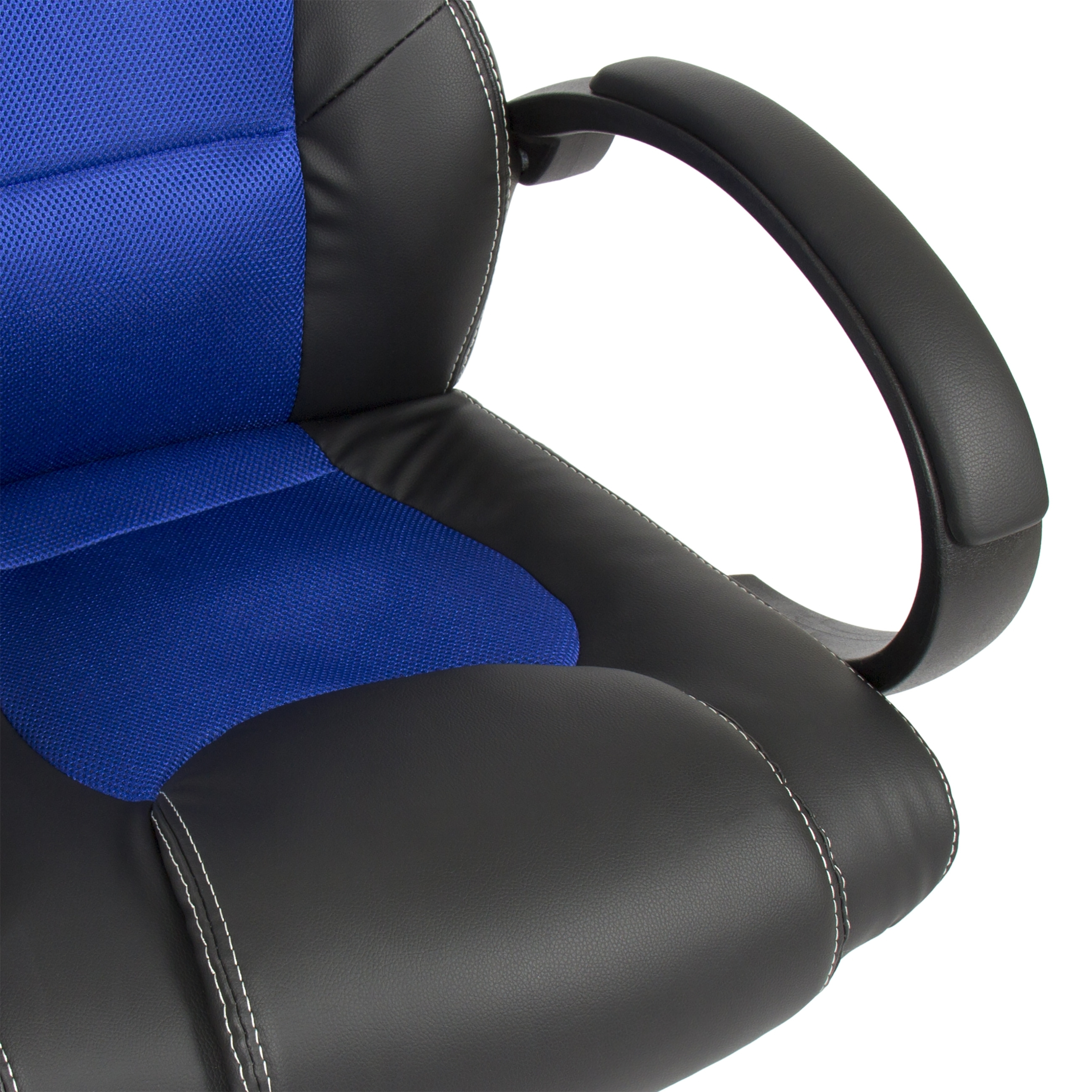 Most Up To Date Executive Office Racing Chairs Intended For Executive Racing Gaming Office Chair Pu Leather Swivel Computer (View 15 of 20)