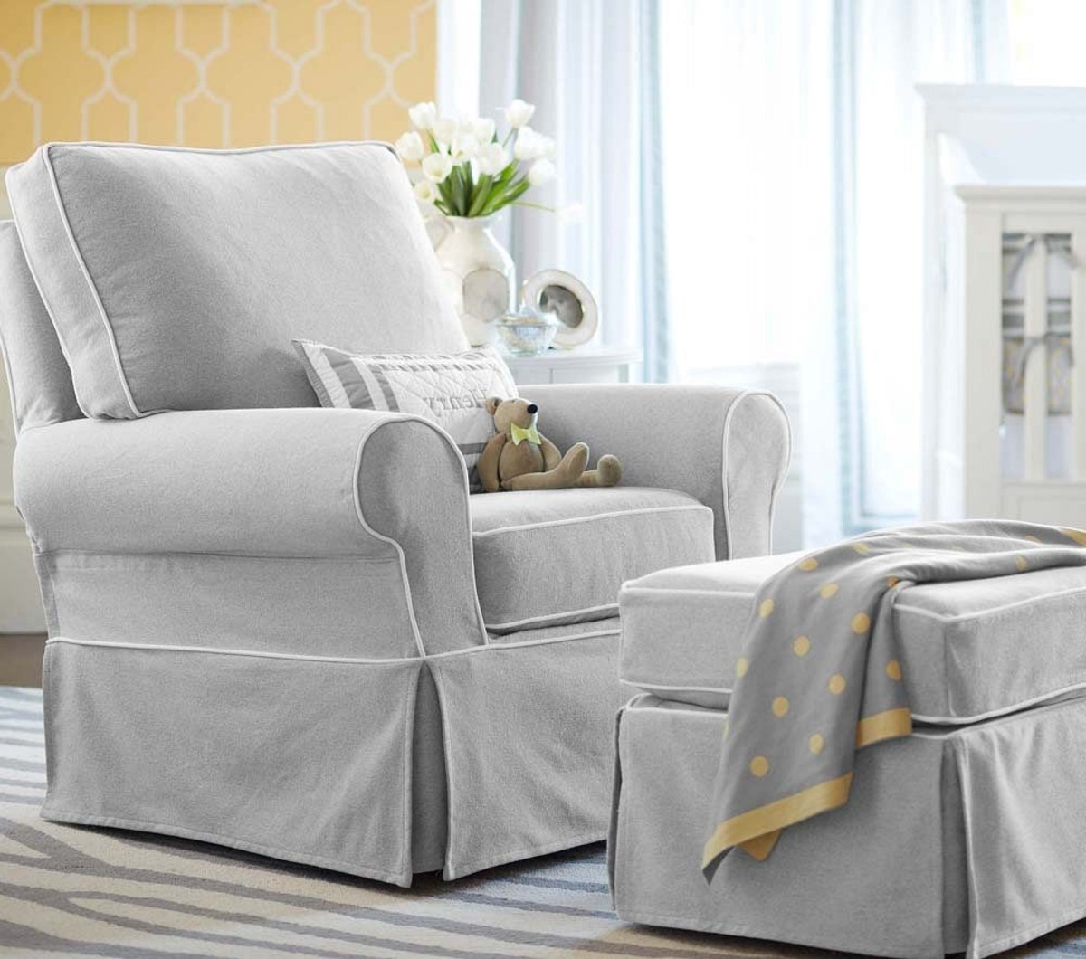 Most Up To Date Gliders With Ottoman Inside The Most Comfortable Nursing Chair & Ottoman (View 13 of 20)