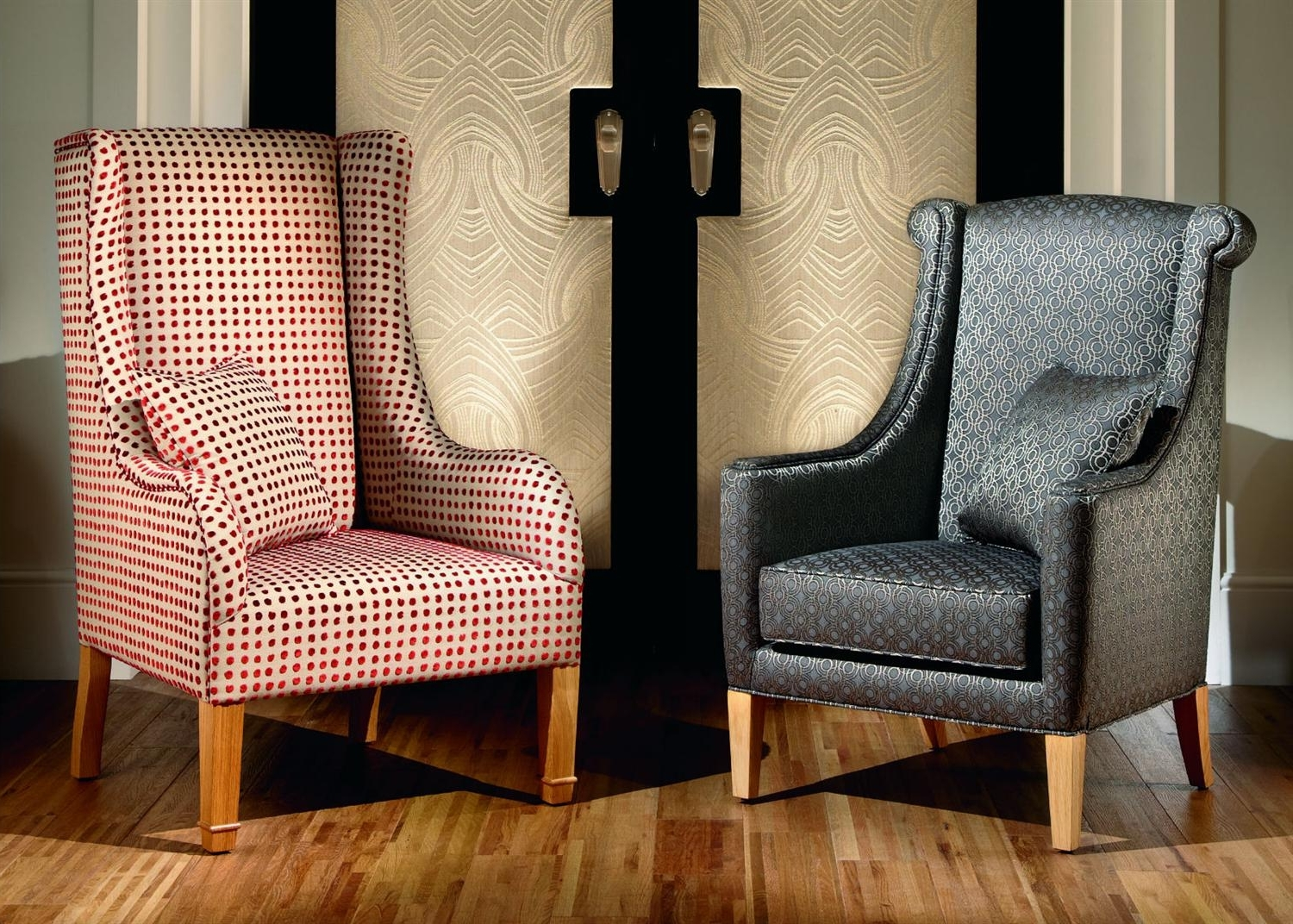 Most Up To Date High Backed Chair From Duresta (View 18 of 20)